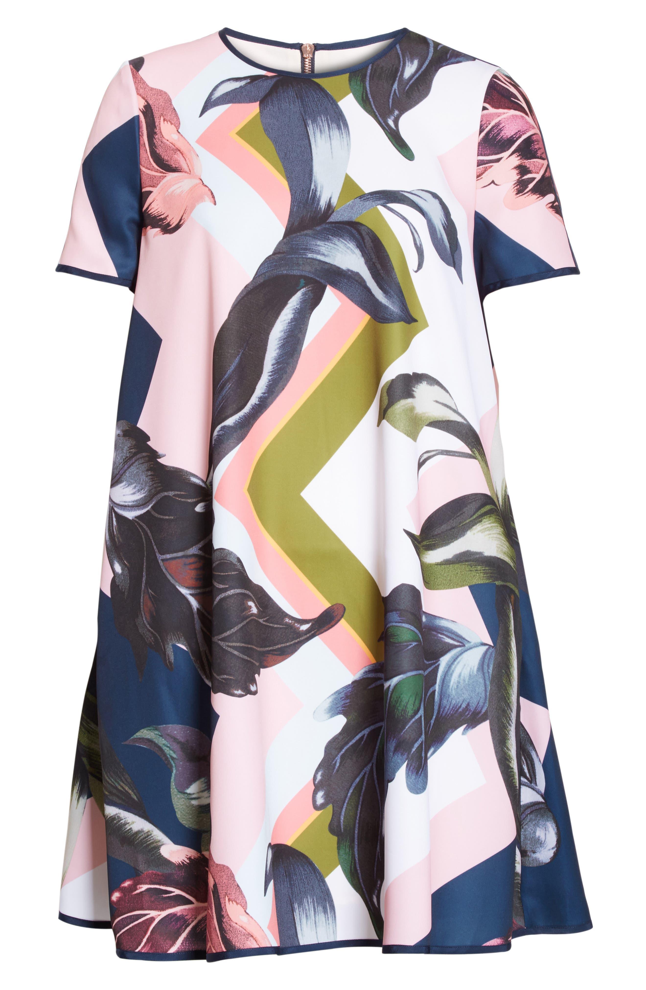 Alternate Image 6  - Ted Baker London Ariena Eden Shift Dress