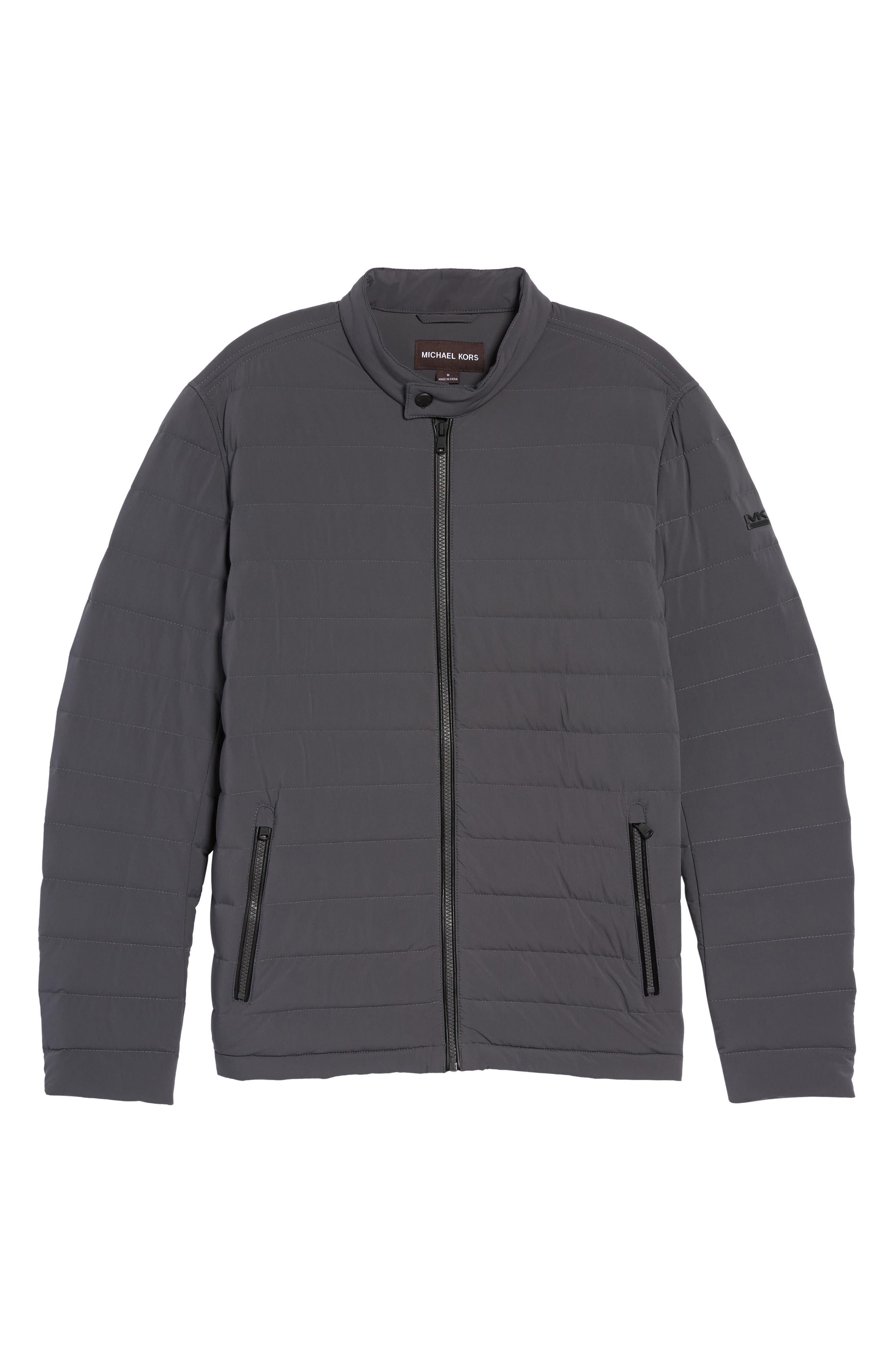 Alternate Image 6  - Michael Kors Packable Stretch Down Jacket