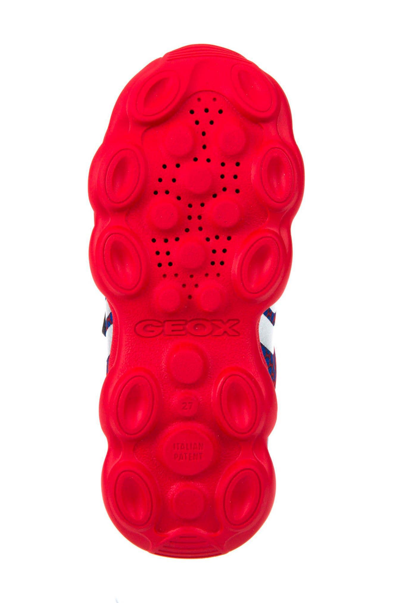 Alternate Image 6  - Geox Munfrey Sneaker (Toddler, Little Kid, Big Kid)