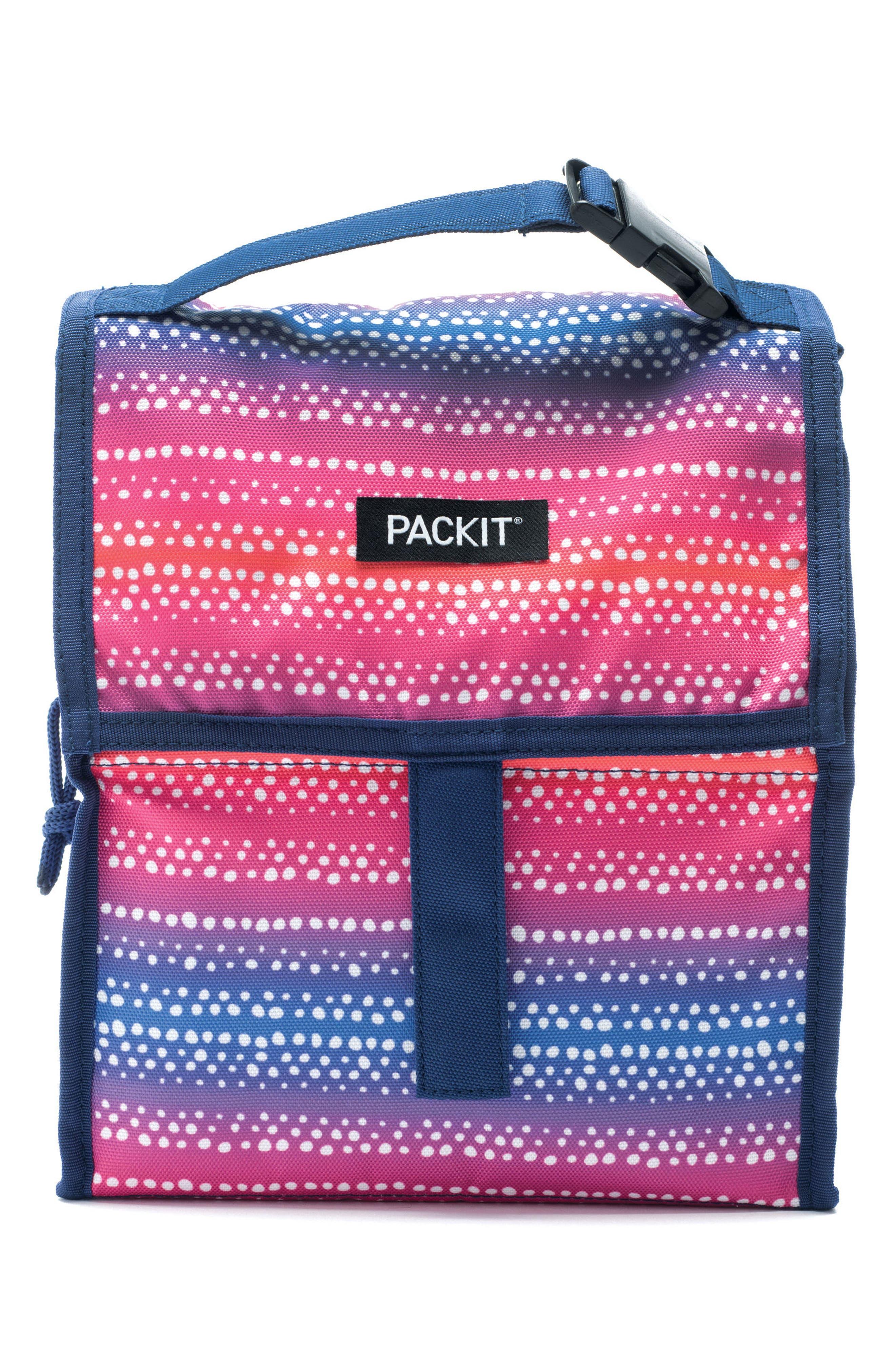 Freezable Lunch Bag,                         Main,                         color, Batik Ombre
