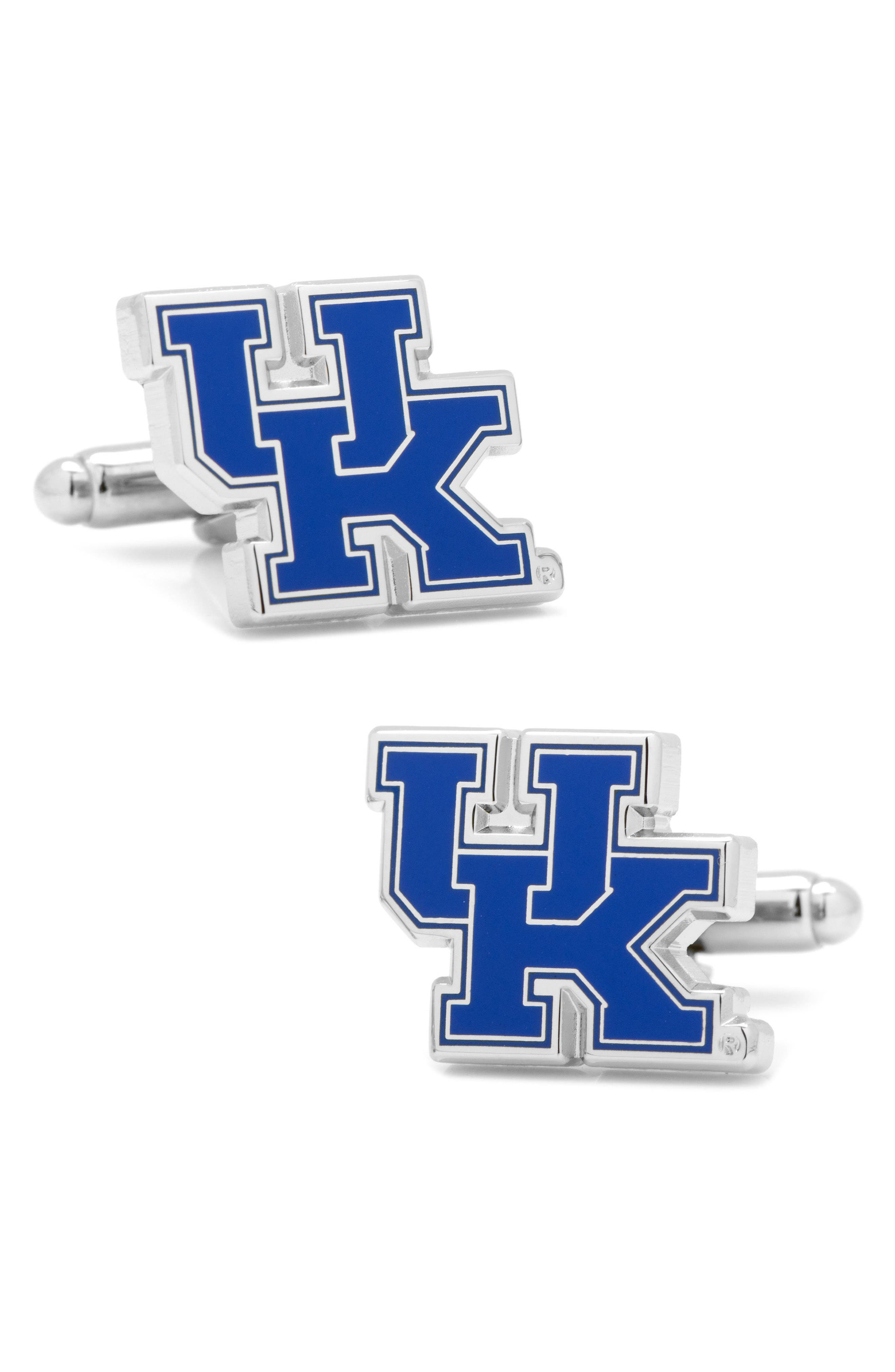 University of Kentucky Wildcats Cuff Links,                         Main,                         color, Blue