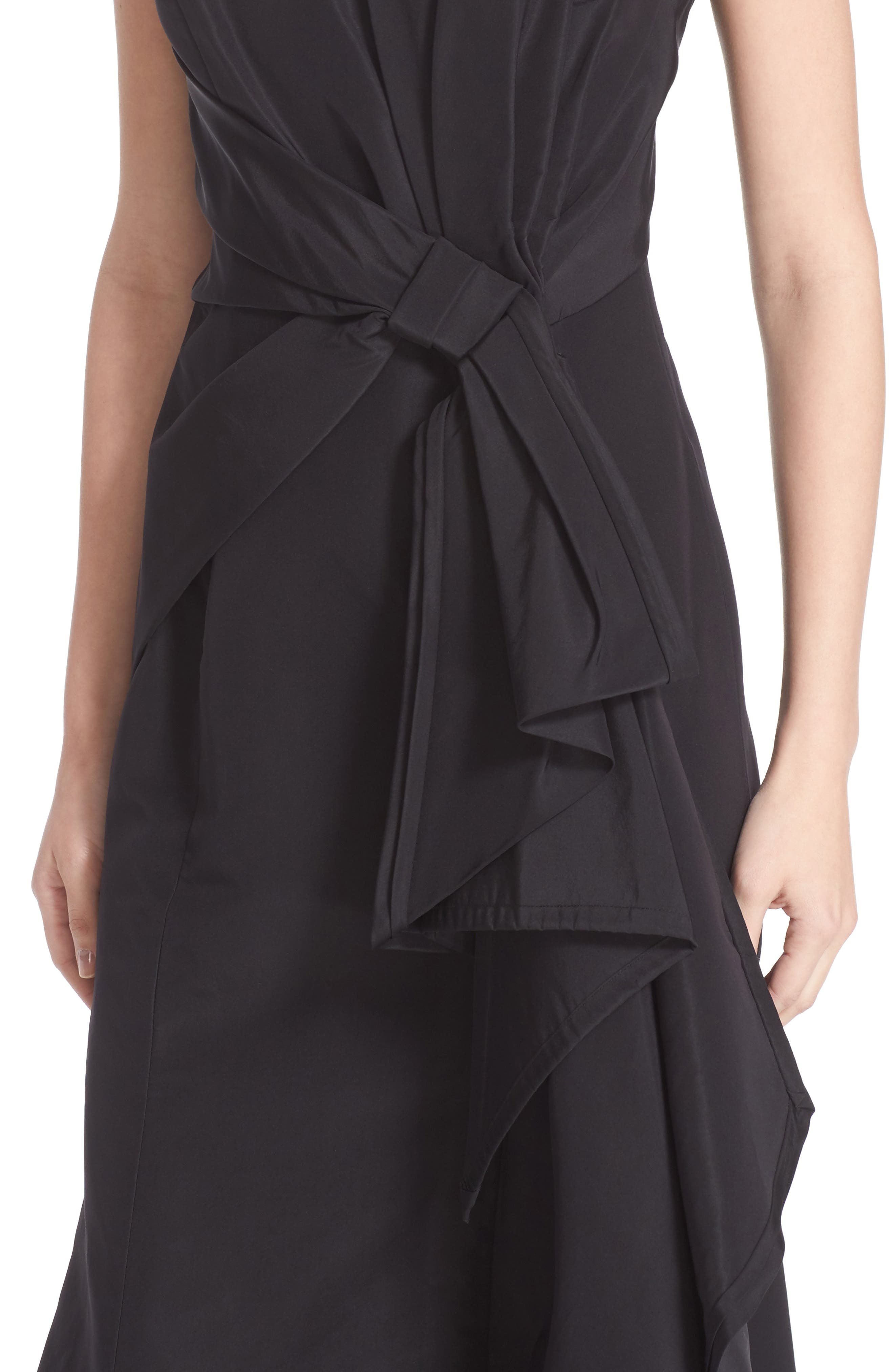 Alternate Image 4  - Carolina Herrera Bow Detail Strapless Silk Faille Gown (Nordstrom Exclusive)
