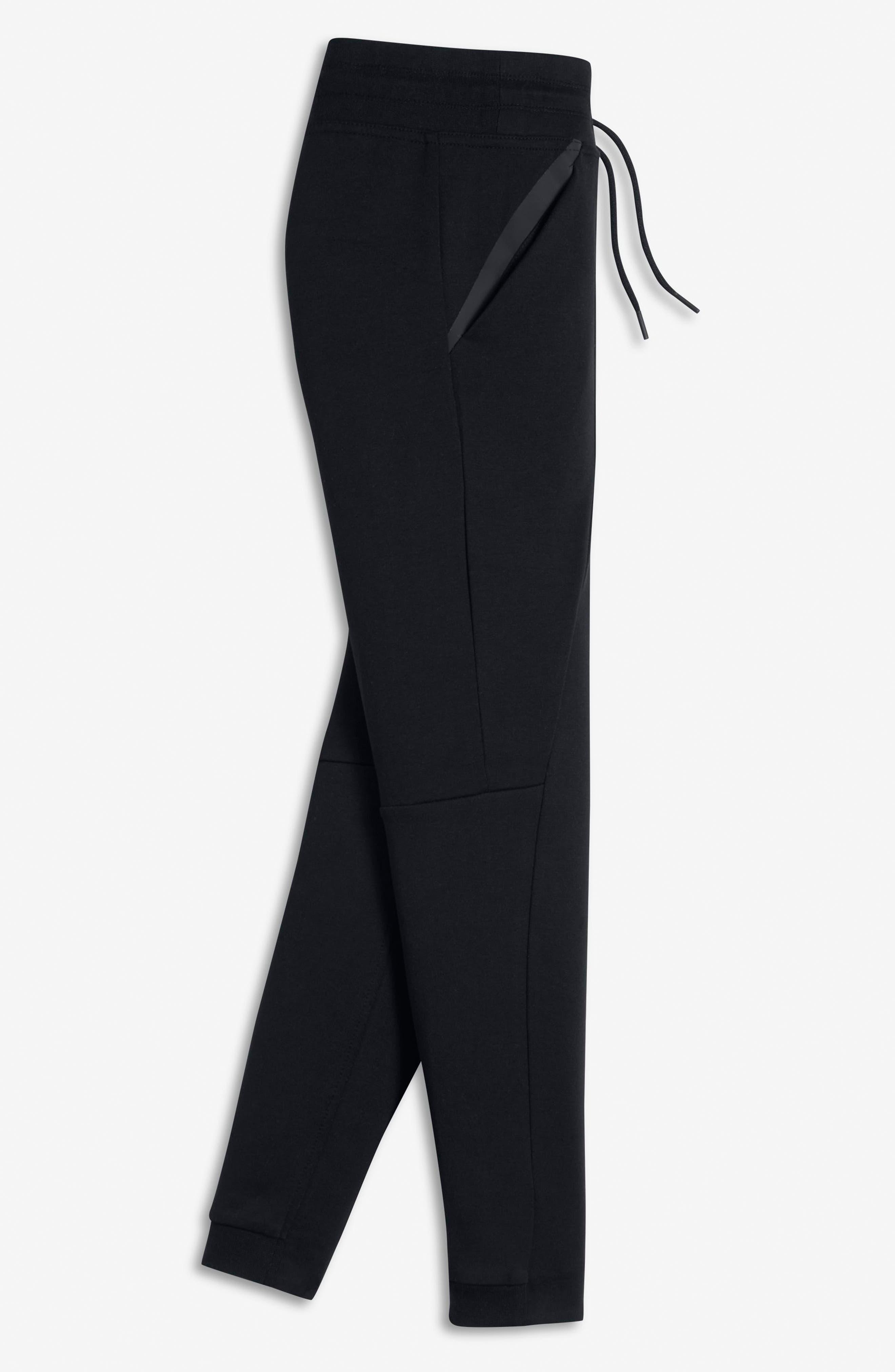 Alternate Image 4  - Nike Tech Fleece Pants (Big Girls)