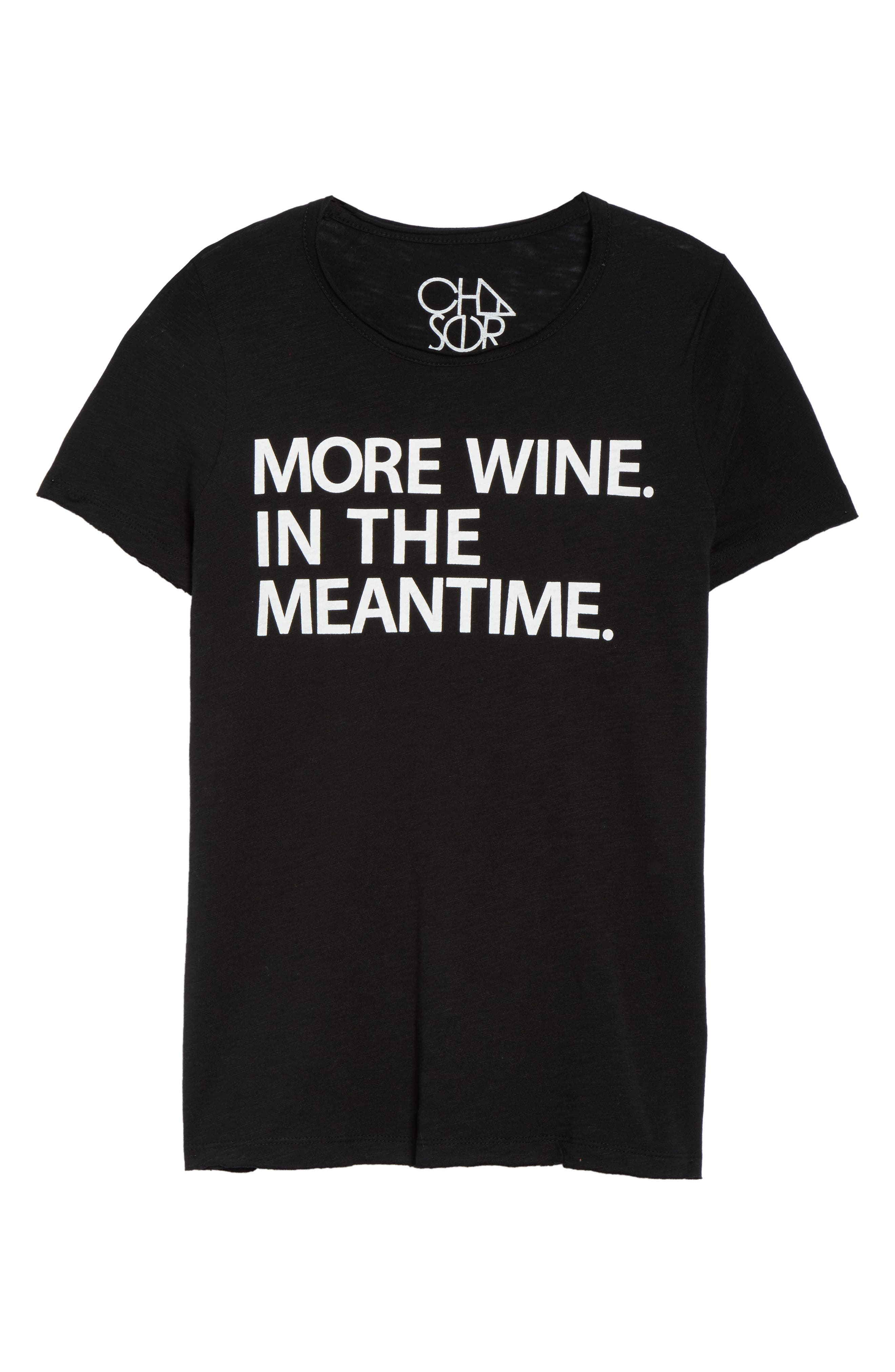 Alternate Image 4  - Chaser More Wine Jersey Tee