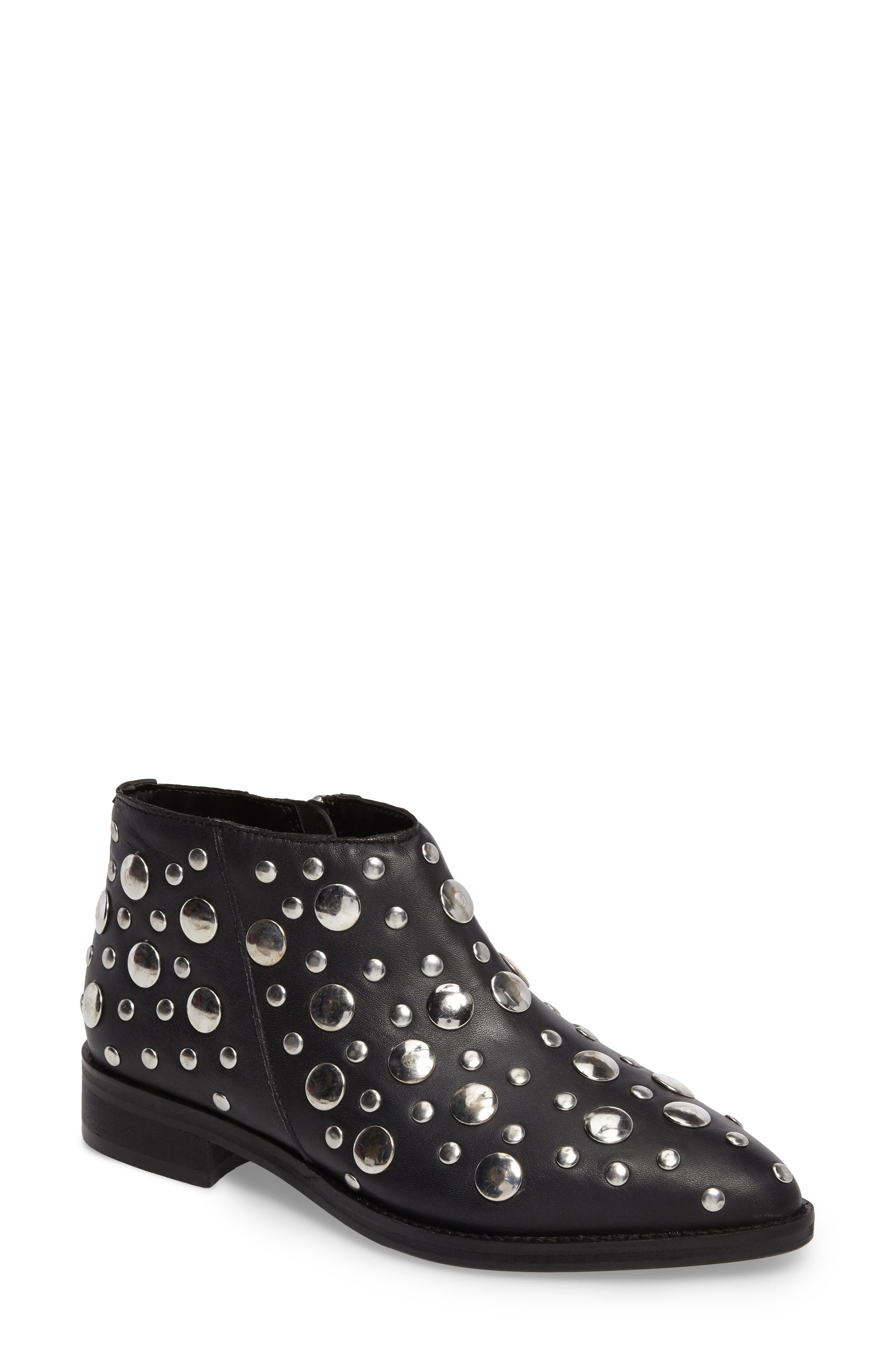 Alternate Image 1 Selected - Topshop Alec Studded Bootie (Women)