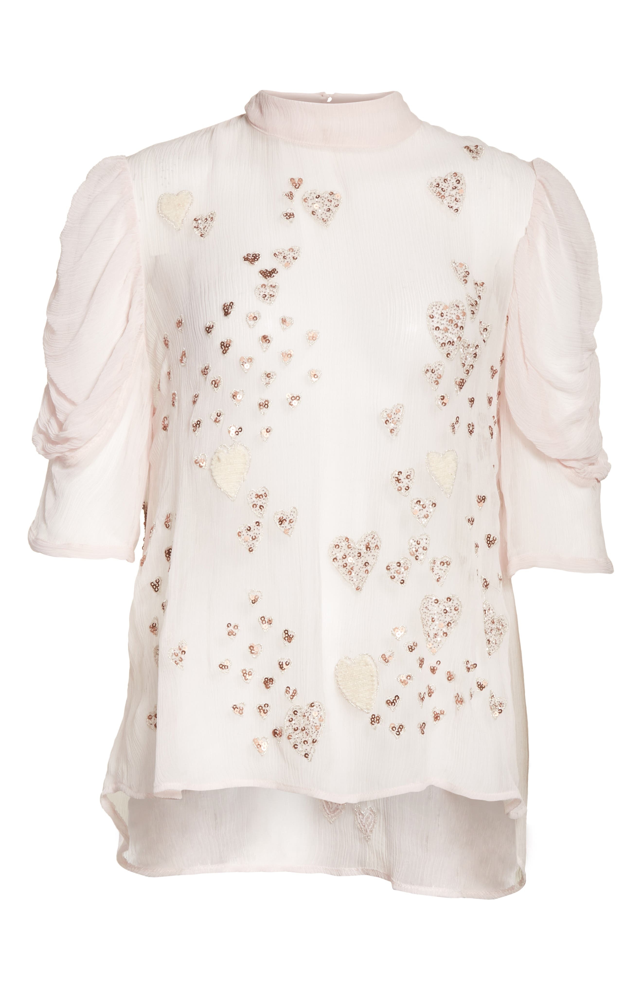 Alternate Image 6  - Free People So in Love Embroidered Blouse