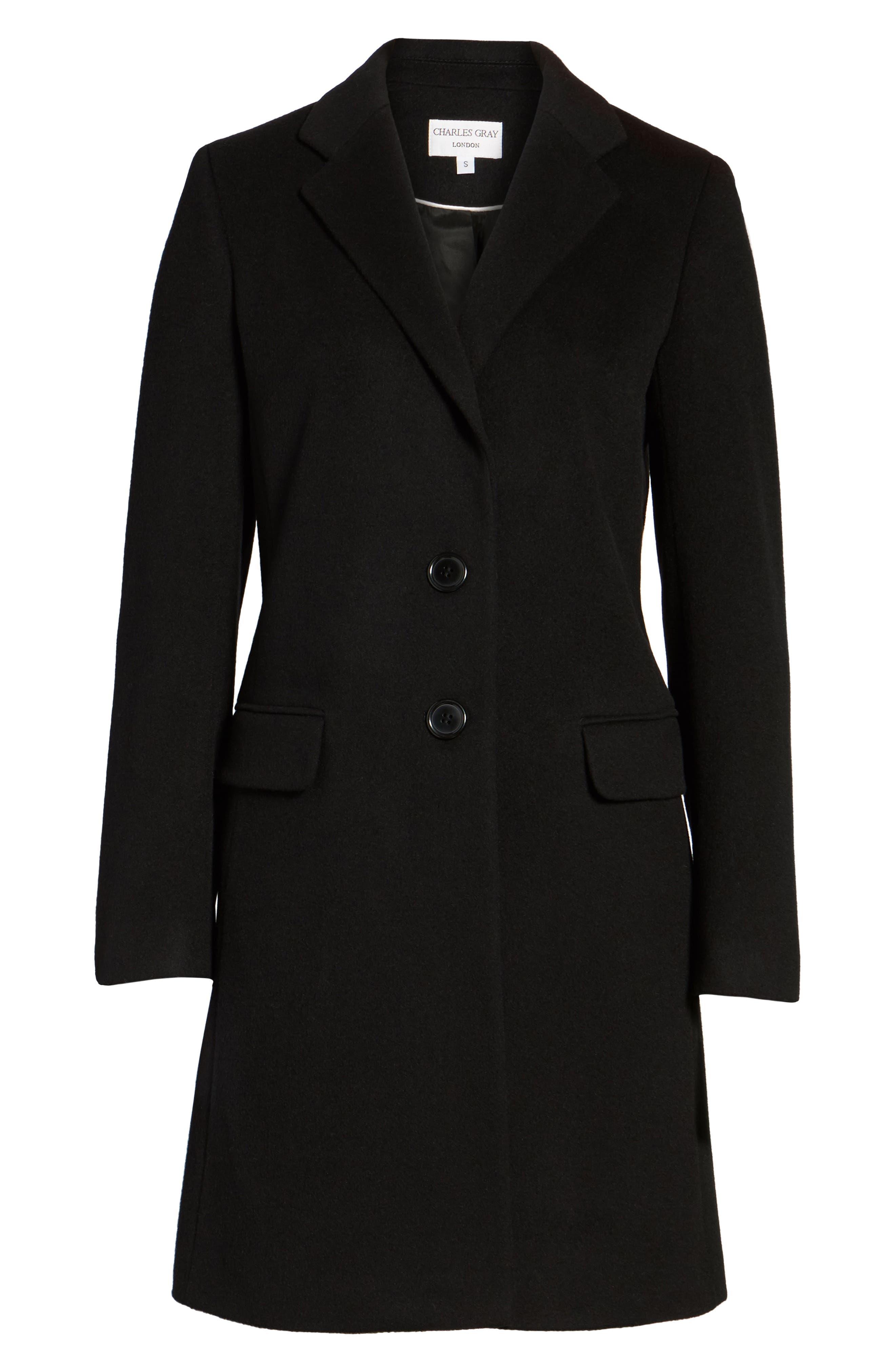 Alternate Image 6  - Charles Gray London Wool Blend College Coat