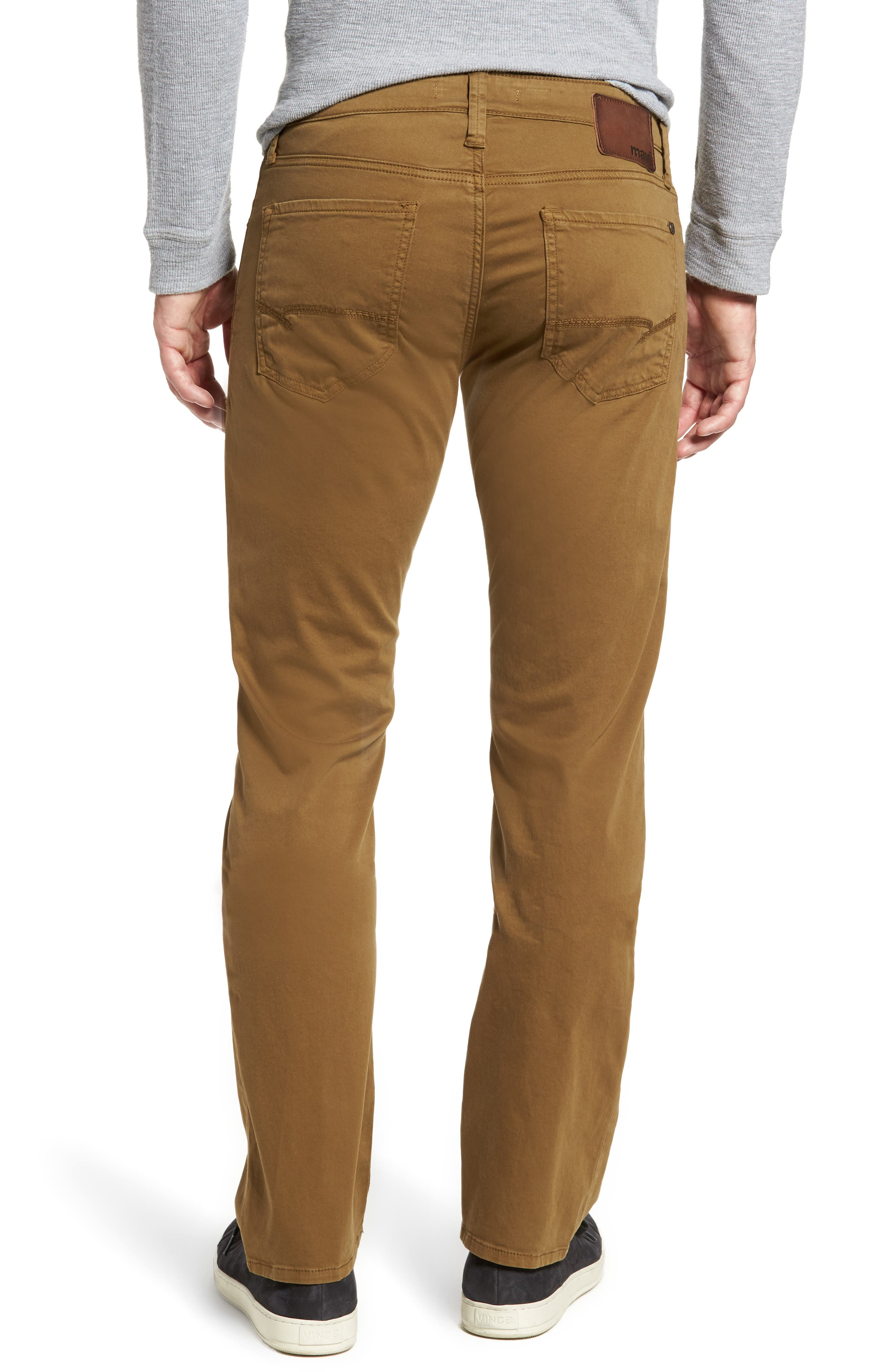 Alternate Image 2  - Mavi Jeans Zach Straight Leg Twill Pants