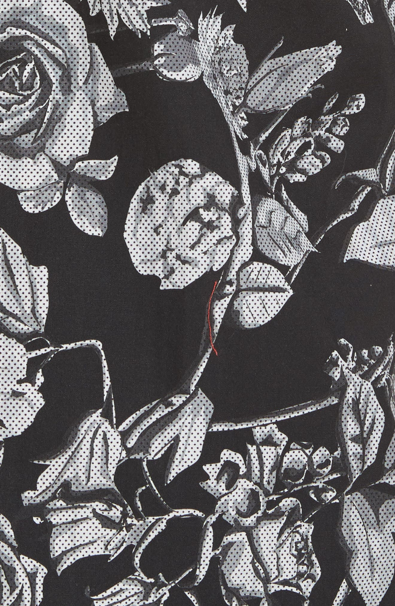 Alternate Image 6  - Ted Baker London Taxee Floral Print Woven Shirt