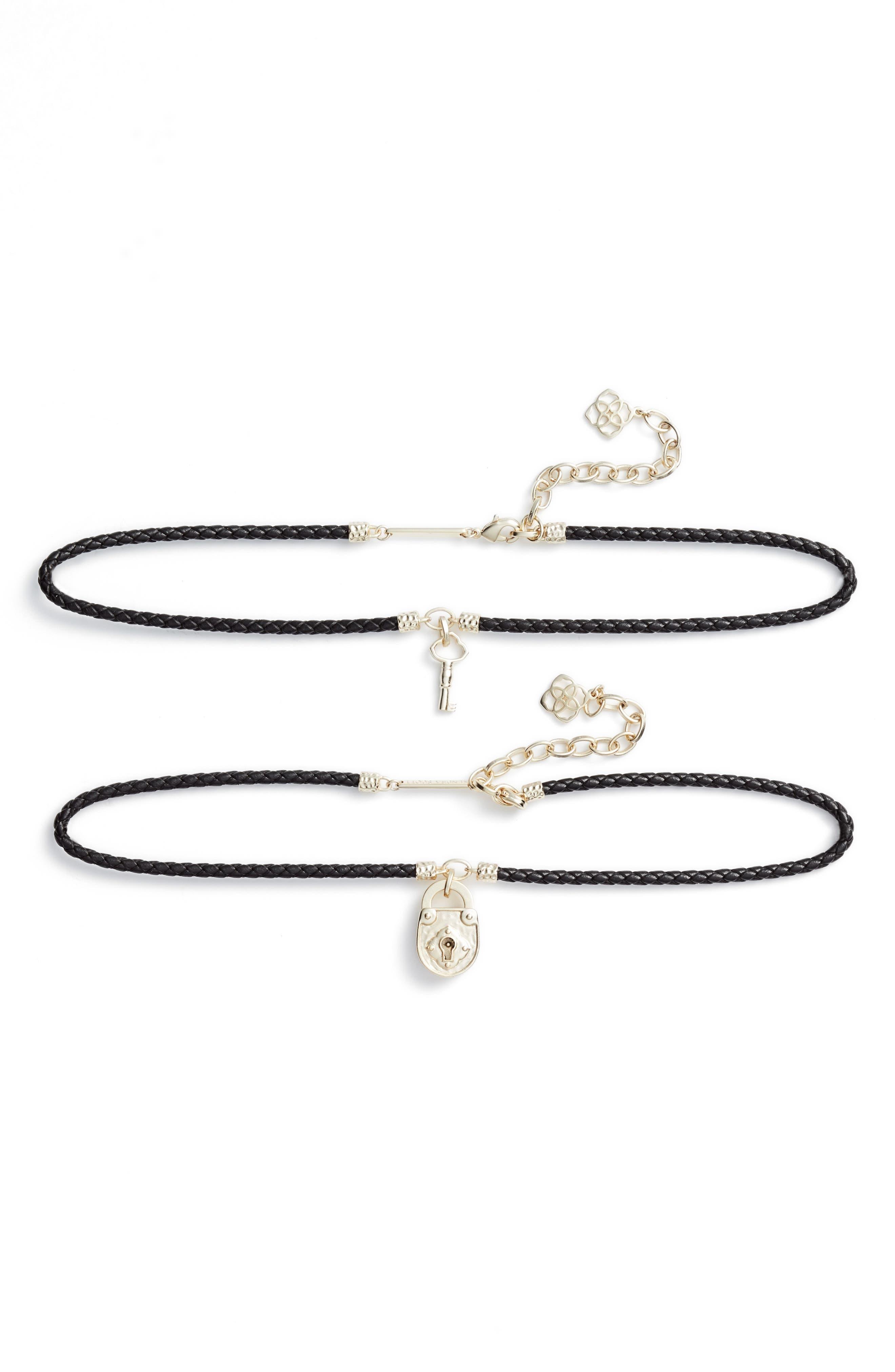 Main Image - Kendra Scott Sunny Set of 2 Choker Necklaces