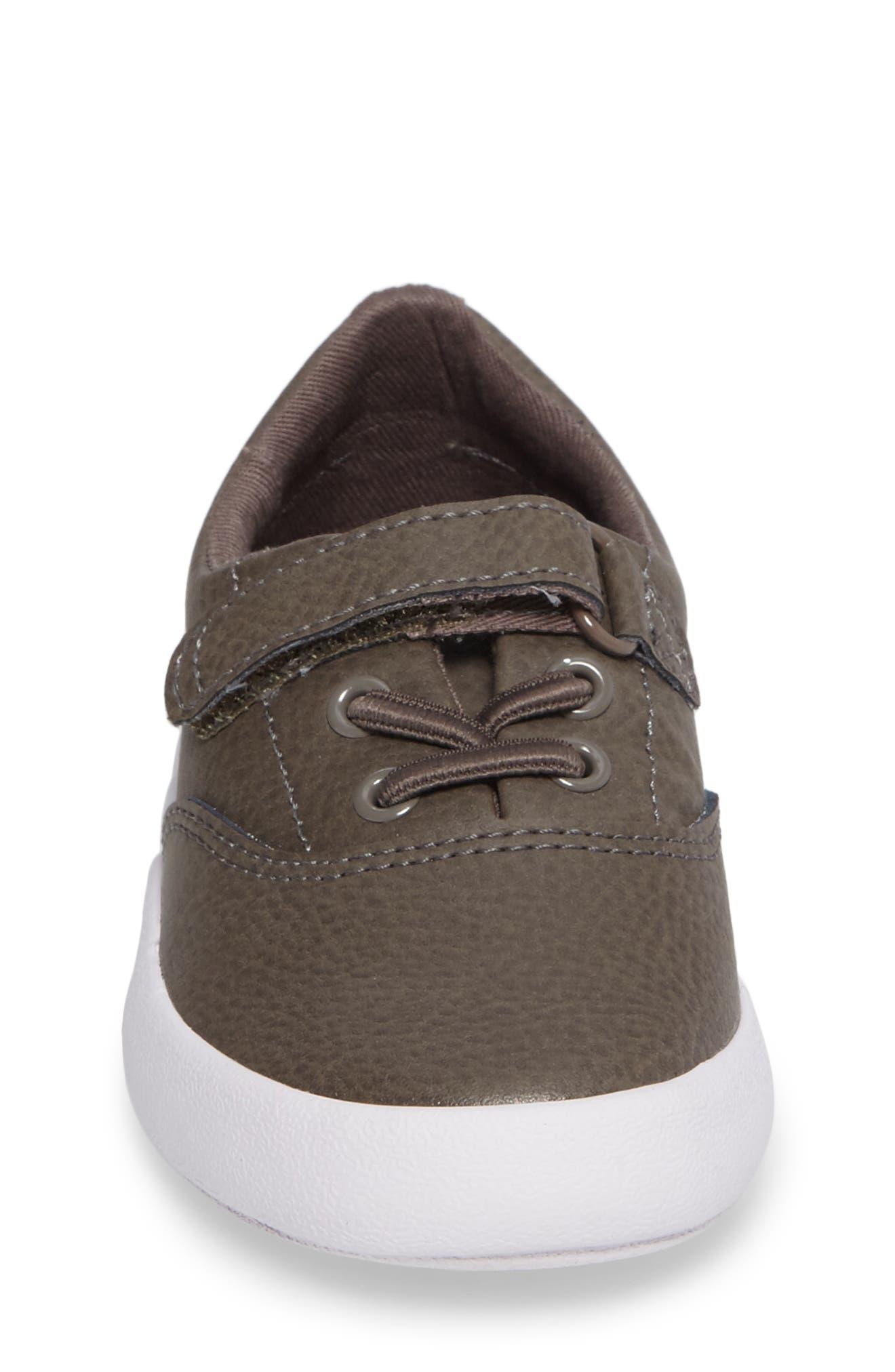 Alternate Image 4  - Sperry Kids Wahoo Junior Sneaker (Walker & Toddler)