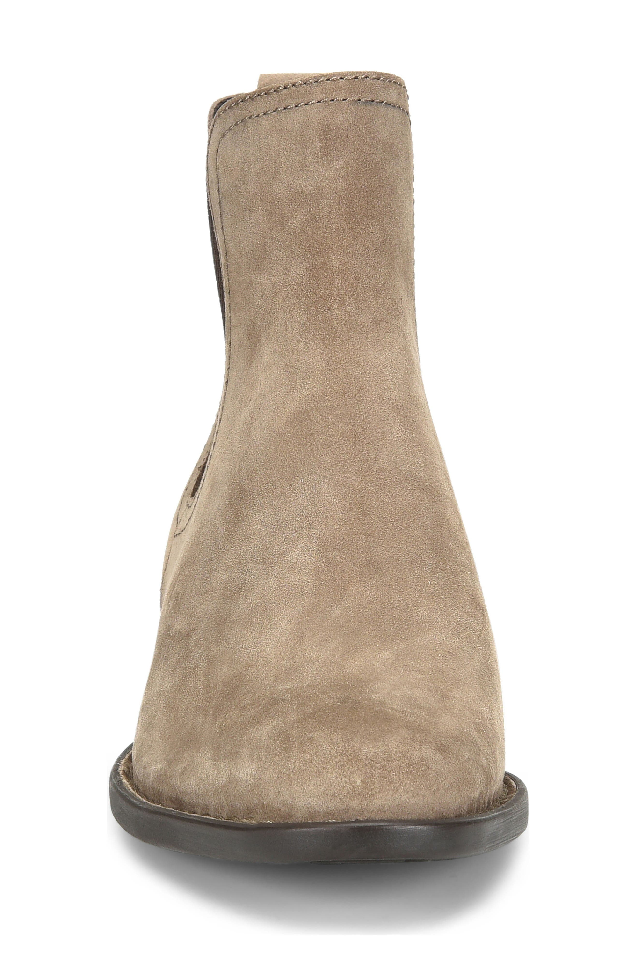 Casco Chelsea Boot,                             Alternate thumbnail 4, color,                             Taupe Suede