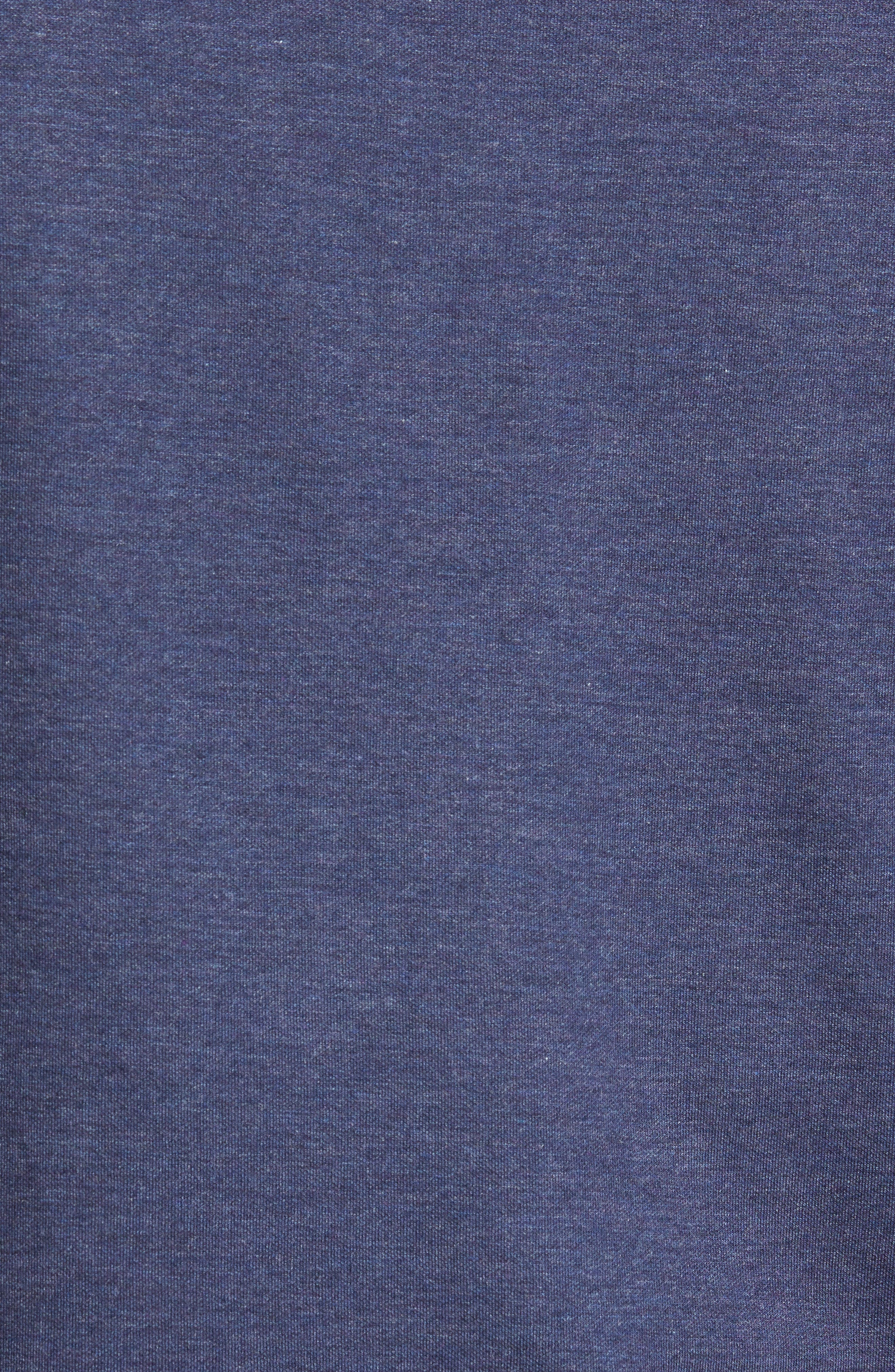 Boating Quarter Zip Pullover,                             Alternate thumbnail 5, color,                             Yankee Blue
