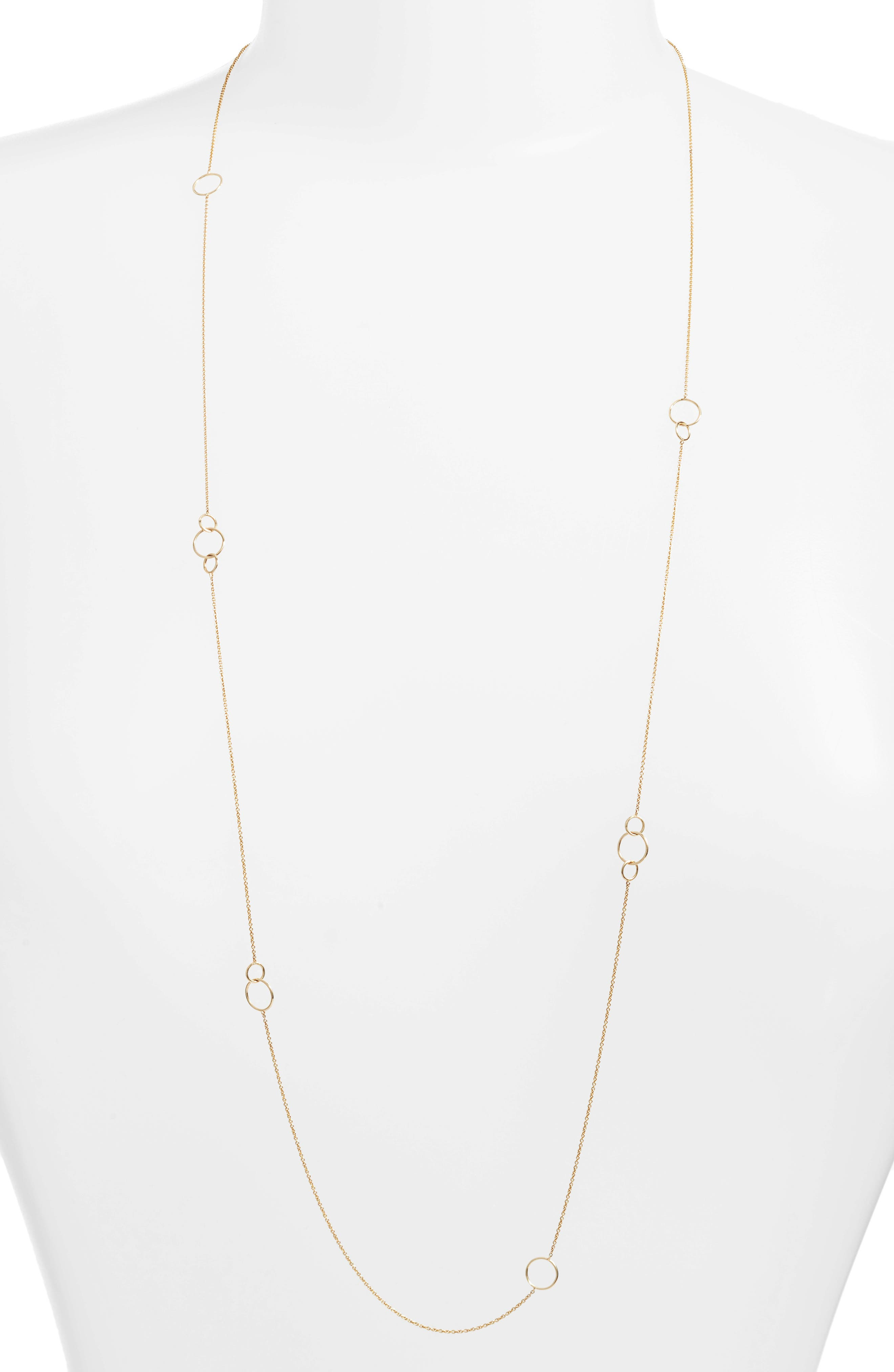 Bony Levy Long Link Necklace (Nordstrom Exclusive)