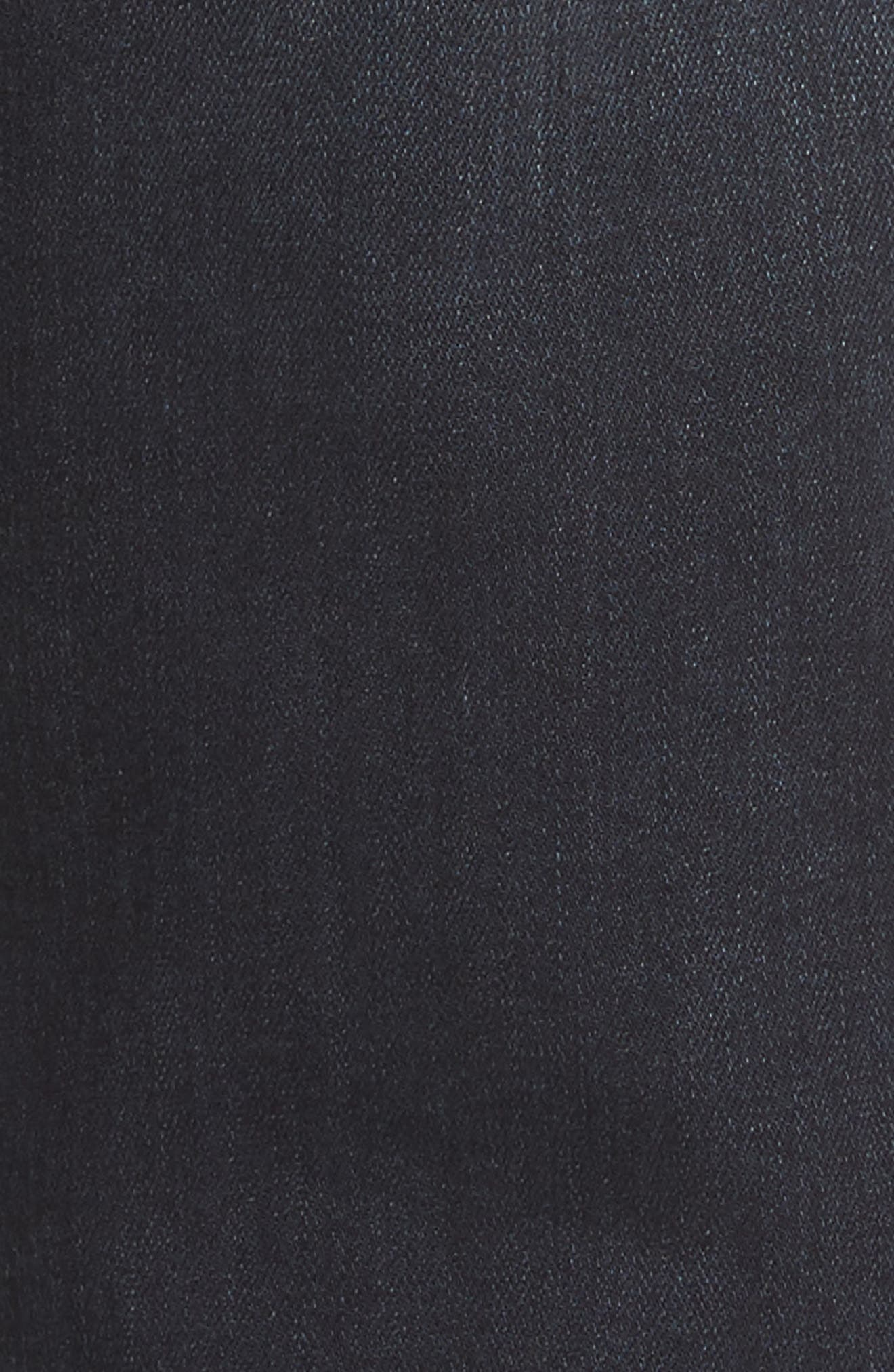 Transcend - Croft Skinny Fit Jeans,                             Alternate thumbnail 5, color,                             Beckett