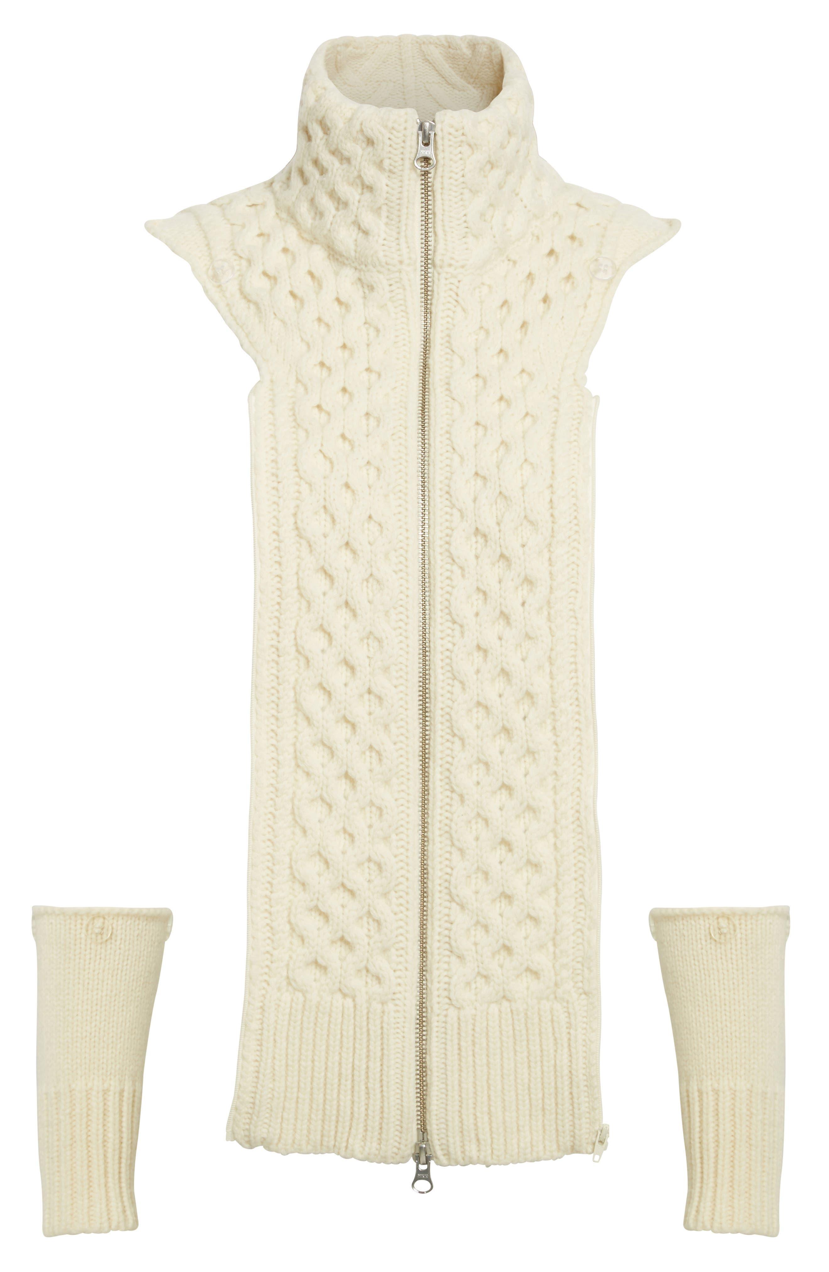 Alternate Image 1 Selected - Veronica Beard 'Upstate' Wool Dickey