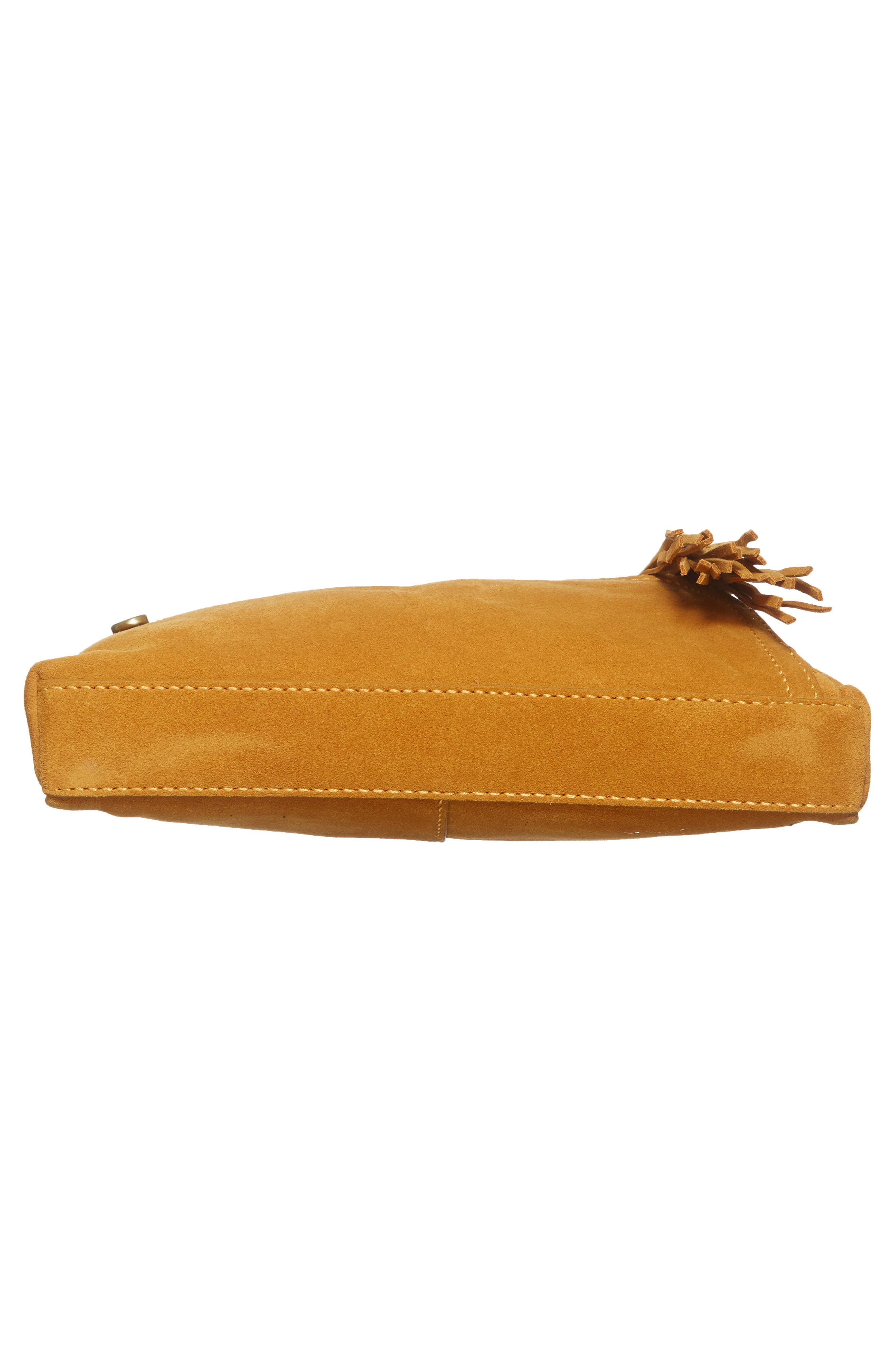 Alternate Image 6  - Hobo Cassie Calfskin Suede Crossbody Bag