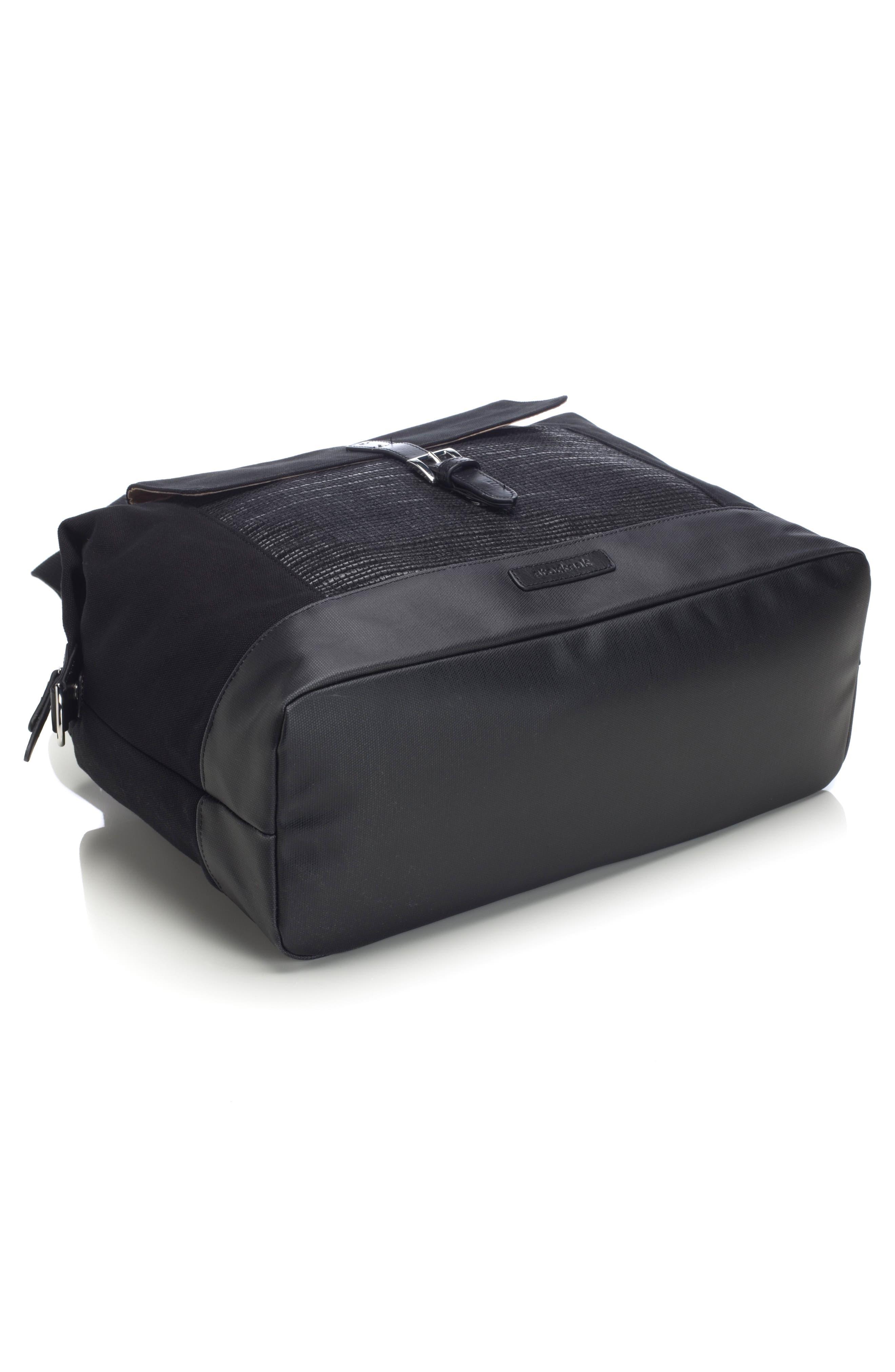 Jude Convertible Diaper Bag,                             Alternate thumbnail 9, color,                             Black