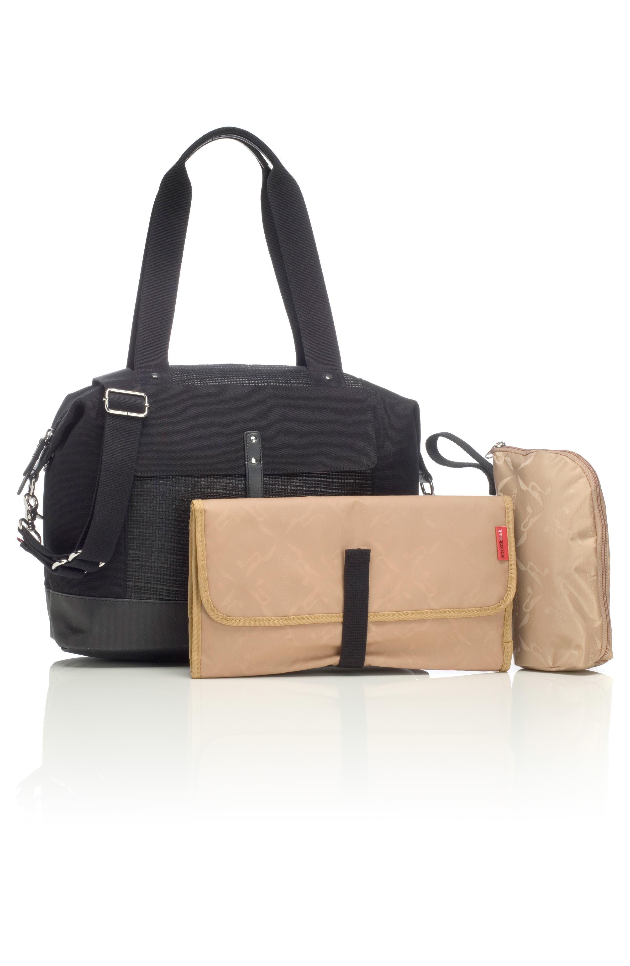 Alternate Image 2  - Storksak Jude Convertible Diaper Bag