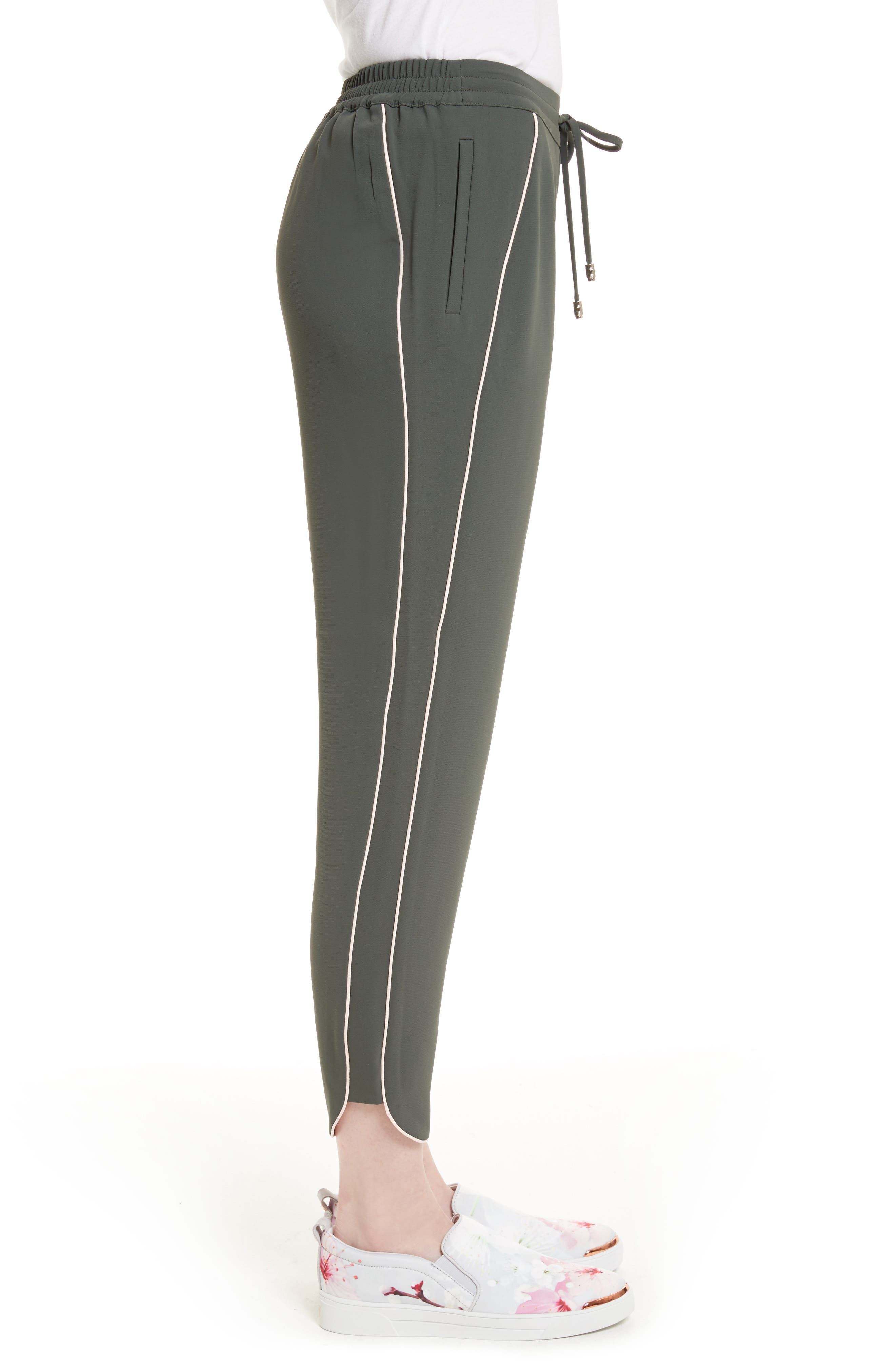 Alternate Image 3  - Ted Baker London Quenbie Piped Jogger Pants