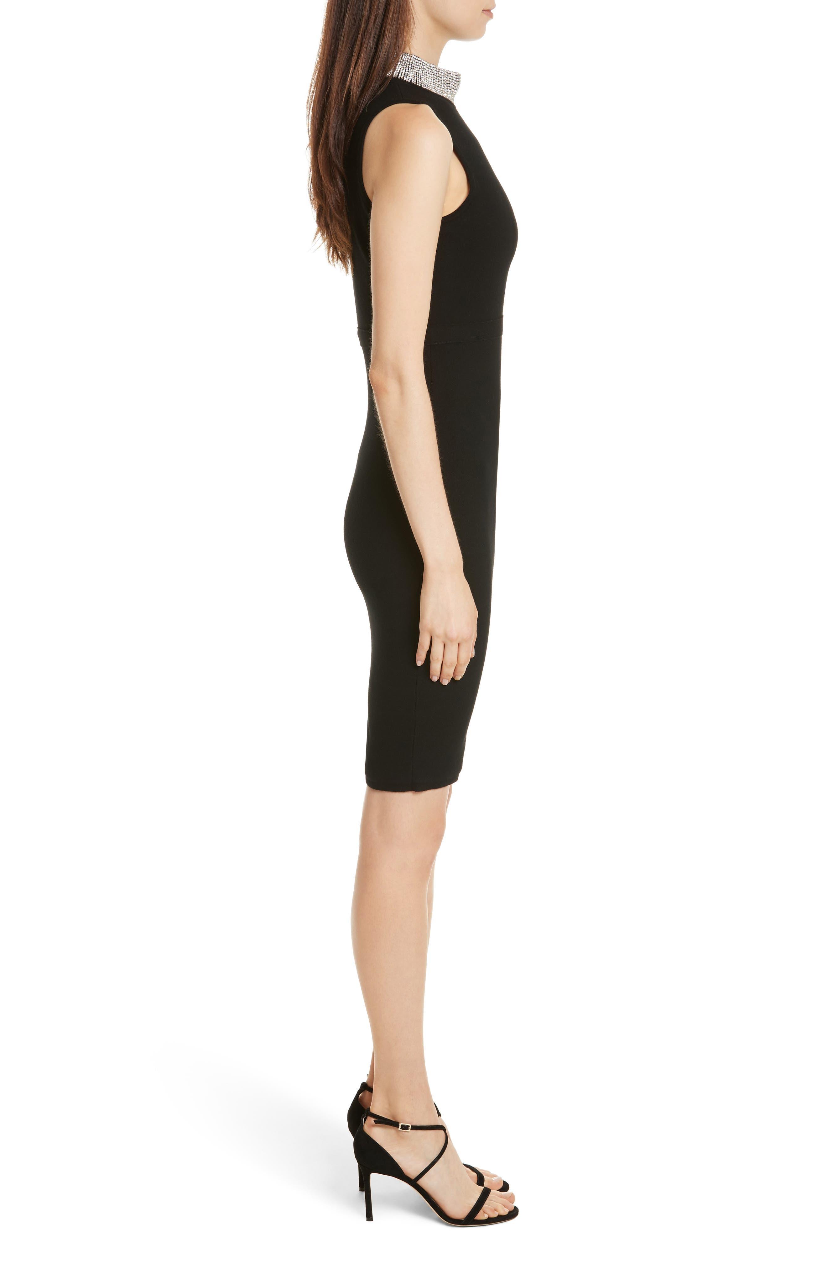 Alternate Image 3  - Milly Jewel Collar Sheath Dress