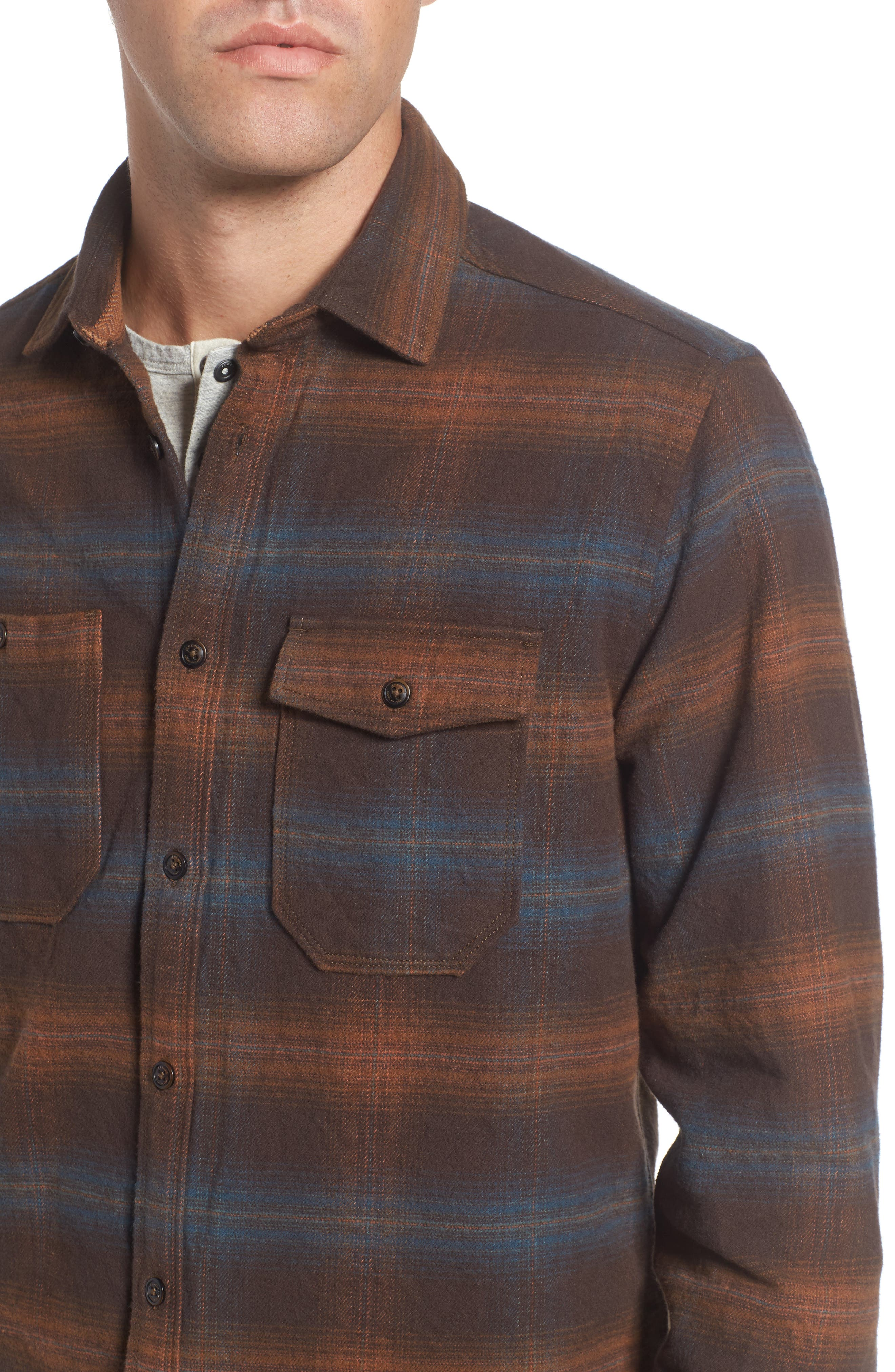 Alternate Image 4  - Jeremiah Canyon Plaid Brushed Twill Shirt