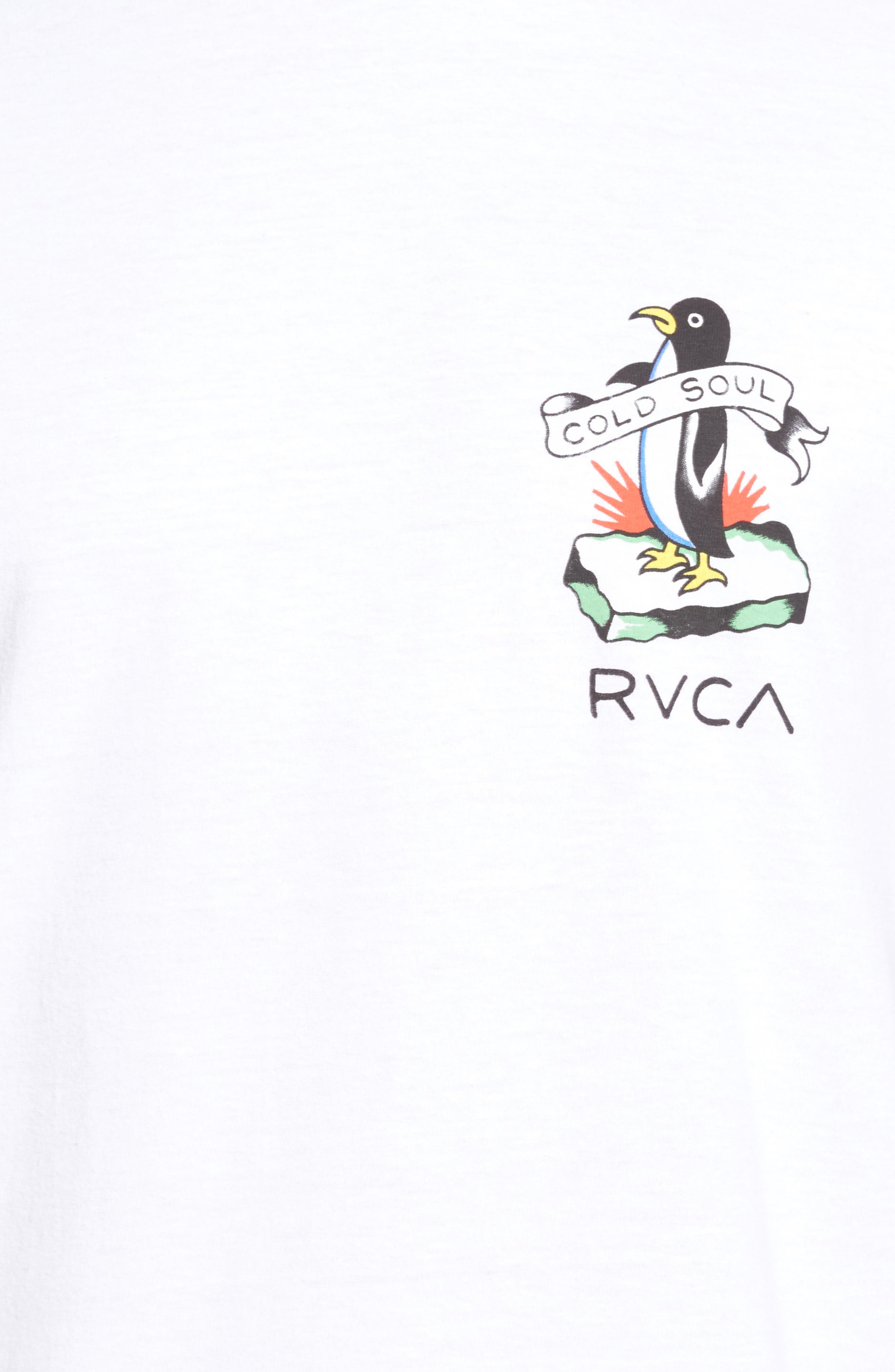 Alternate Image 5  - RVCA Cold Soul Graphic T-Shirt
