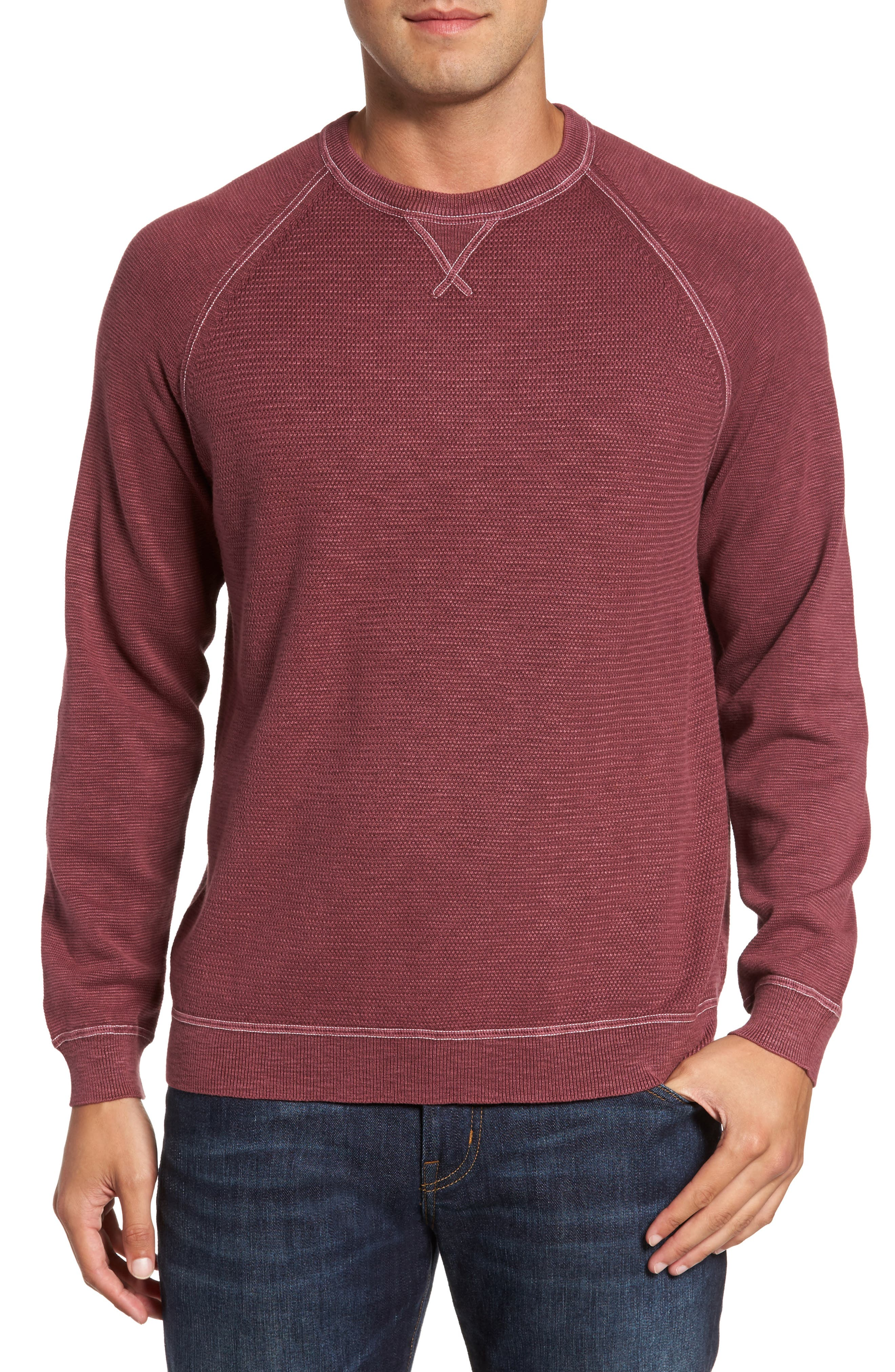 Main Image - Tommy Bahama Saltwater Tide Pullover