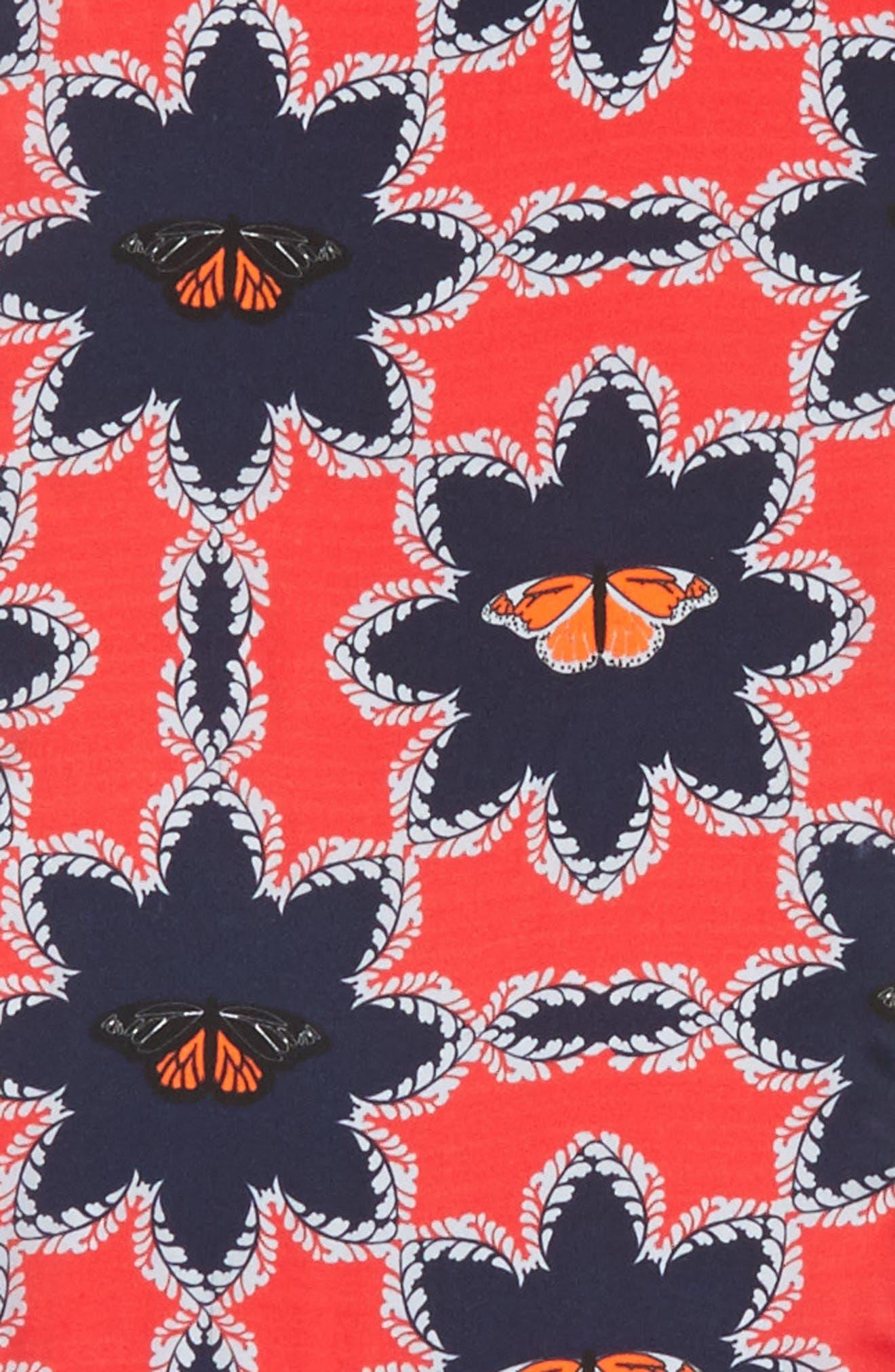 Alternate Image 3  - Ted Baker London Kyoto Gardens Silk Skinny Scarf