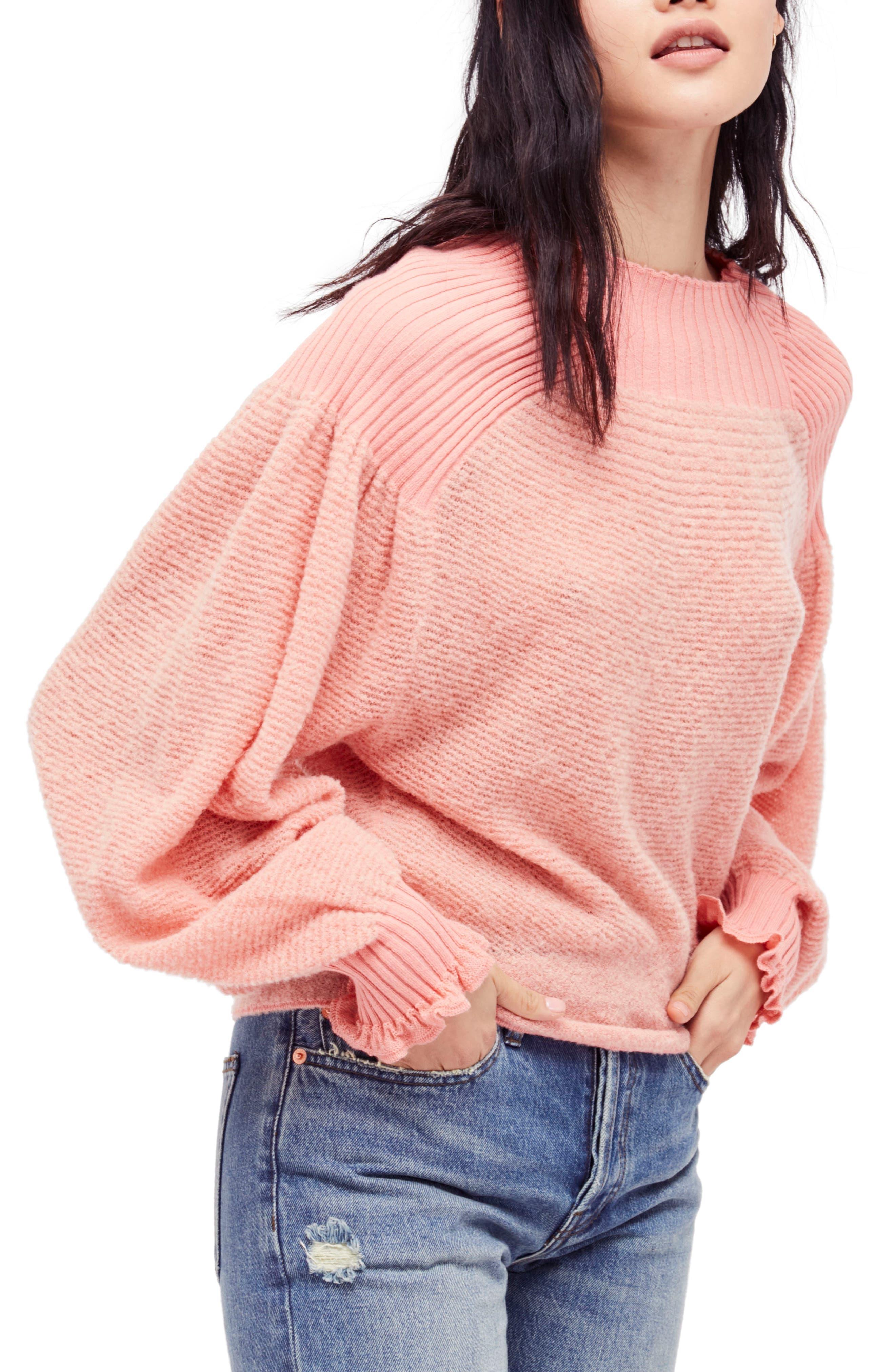 Main Image - Free People Elderflower Sweater