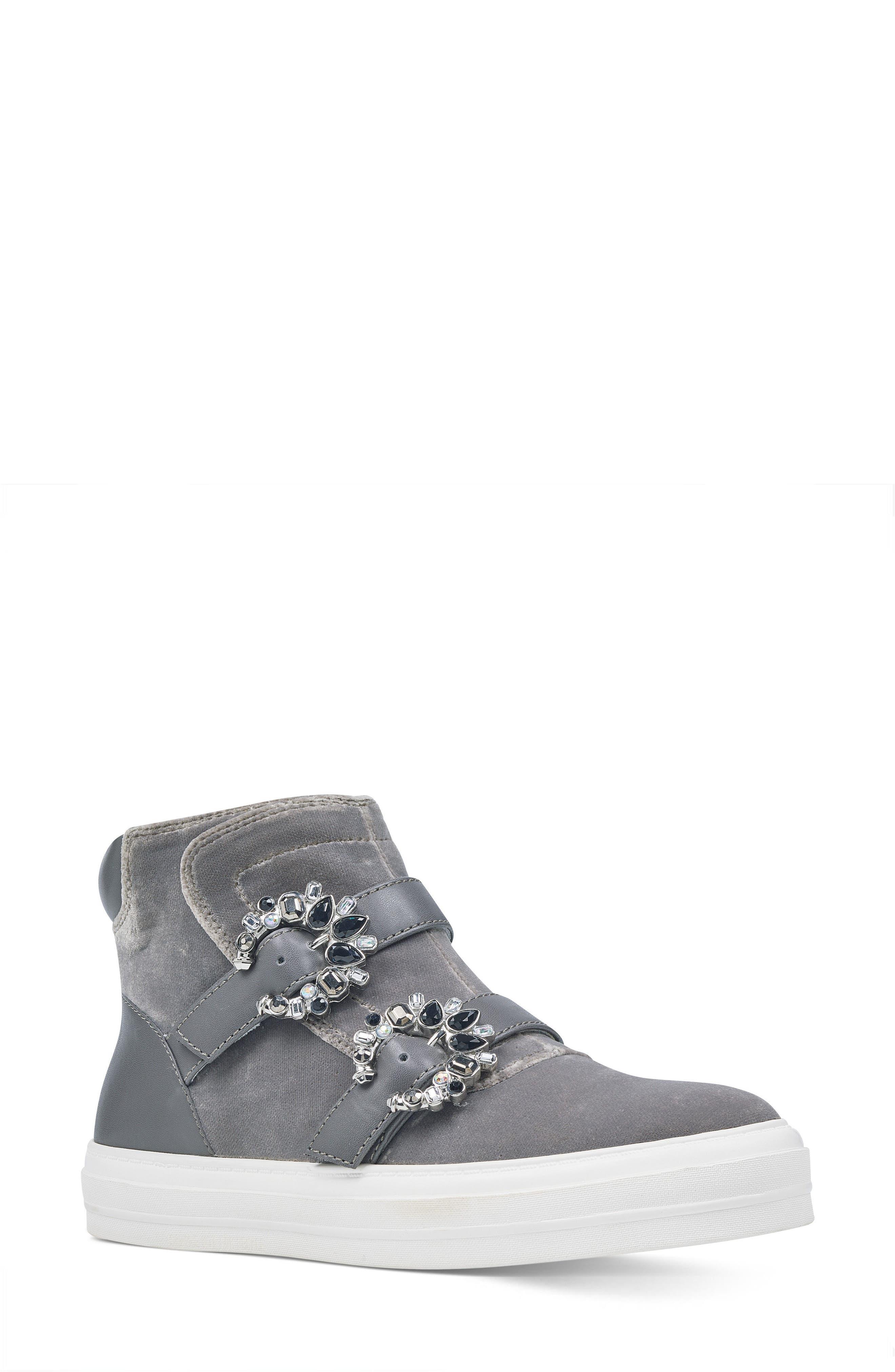 Alternate Image 1 Selected - Nine West Orisna High Top Sneaker (Women)