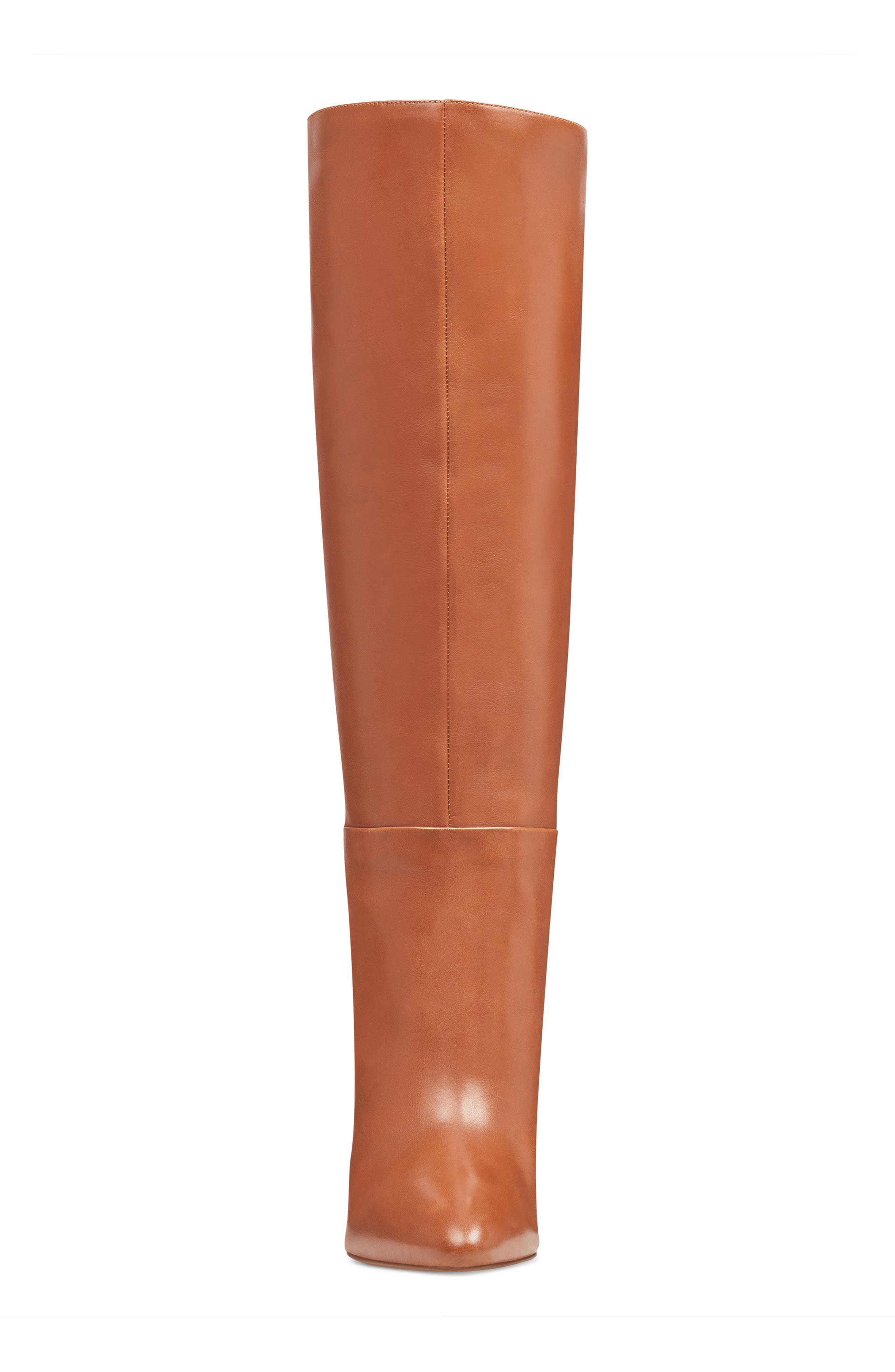 Christie Knee High Boot,                             Alternate thumbnail 4, color,                             Dark Natural Leather