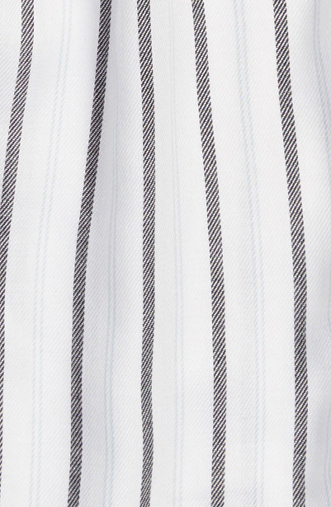 Cold Shoulder Jumpsuit,                             Alternate thumbnail 2, color,                             White/ Black