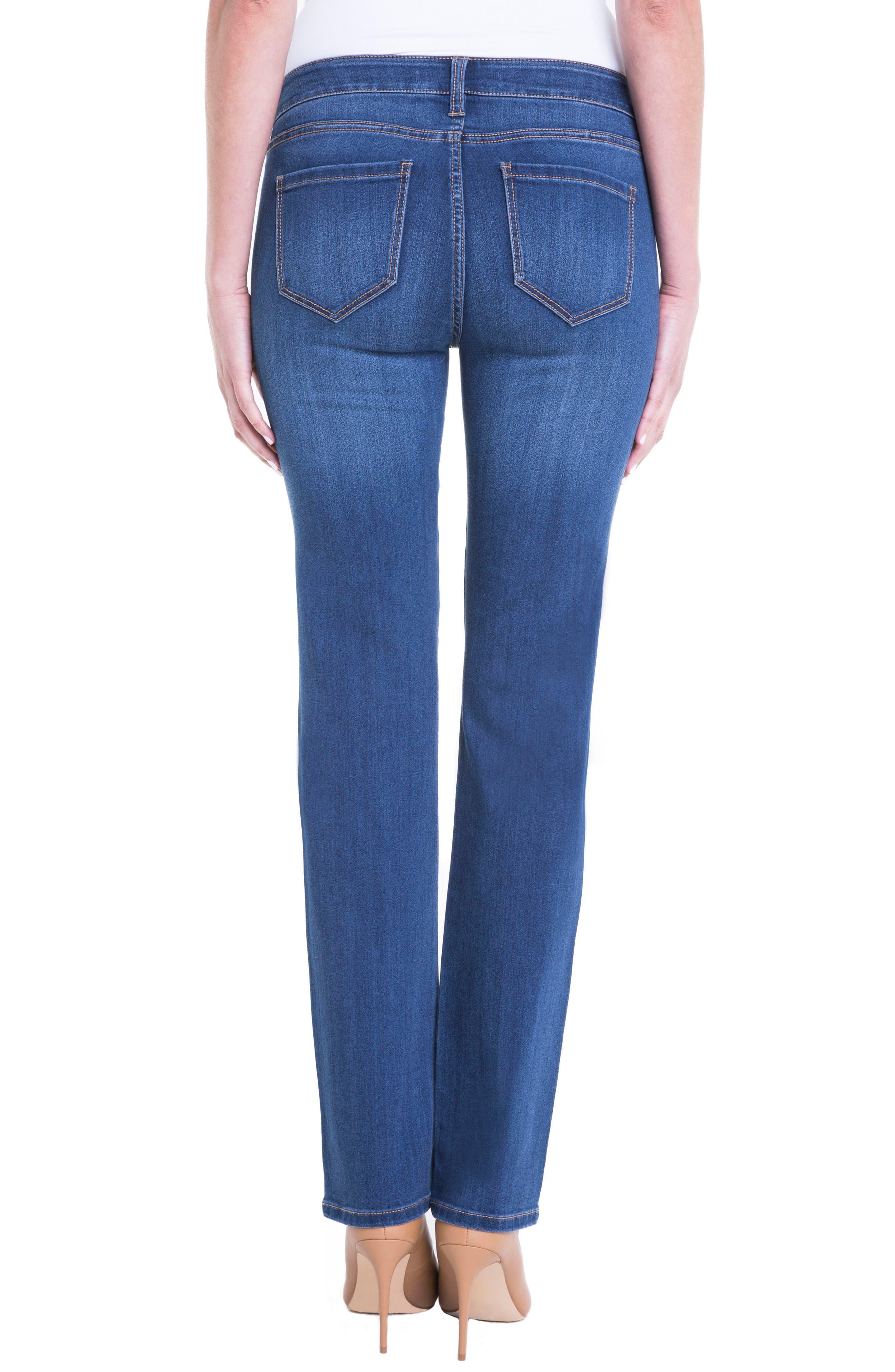 Sadie Straight Leg Jeans,                             Alternate thumbnail 3, color,                             Helms
