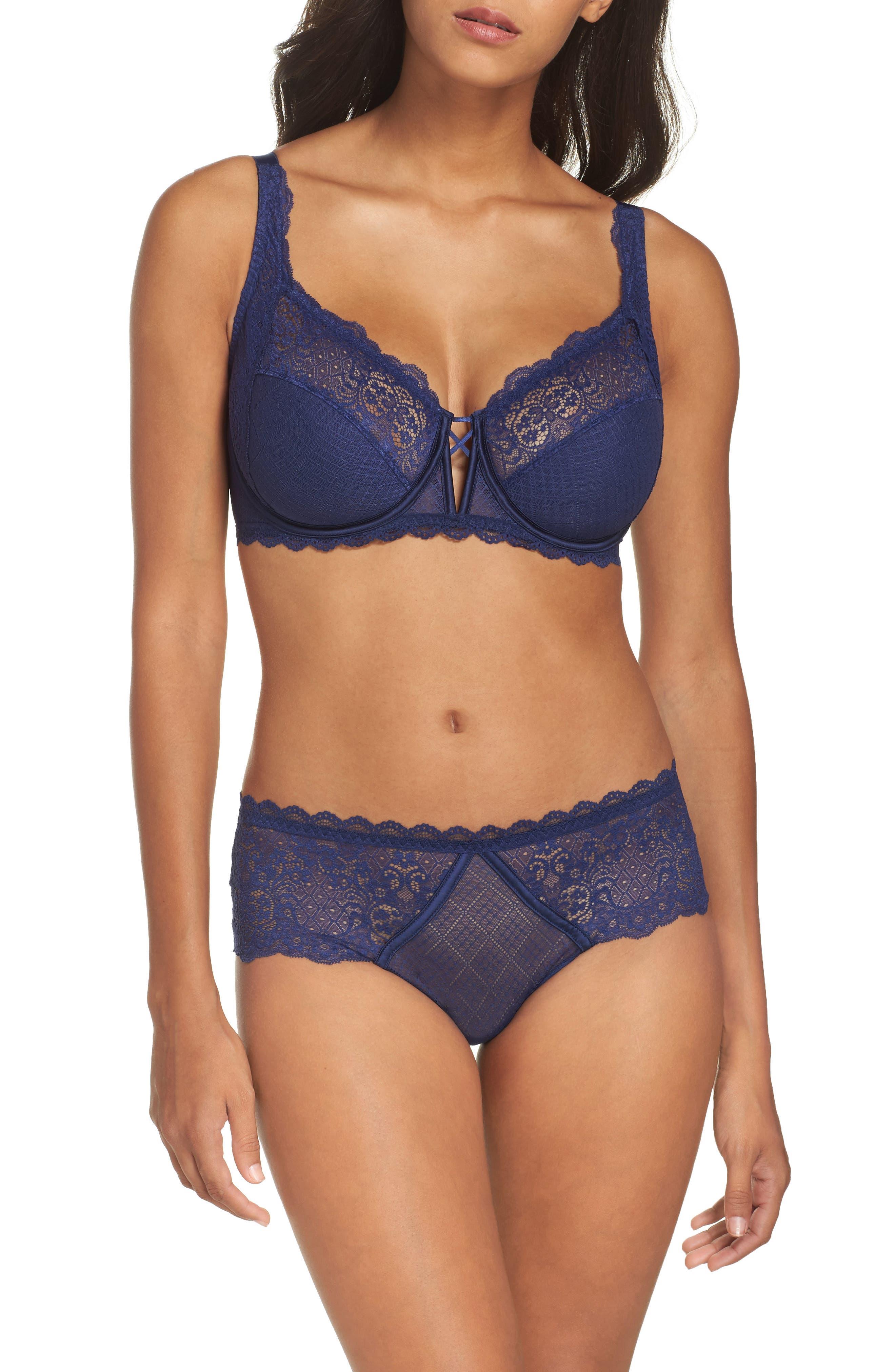 Alternate Image 5  - Simone Perele Flirt Underwire Lace Full Fit Bra