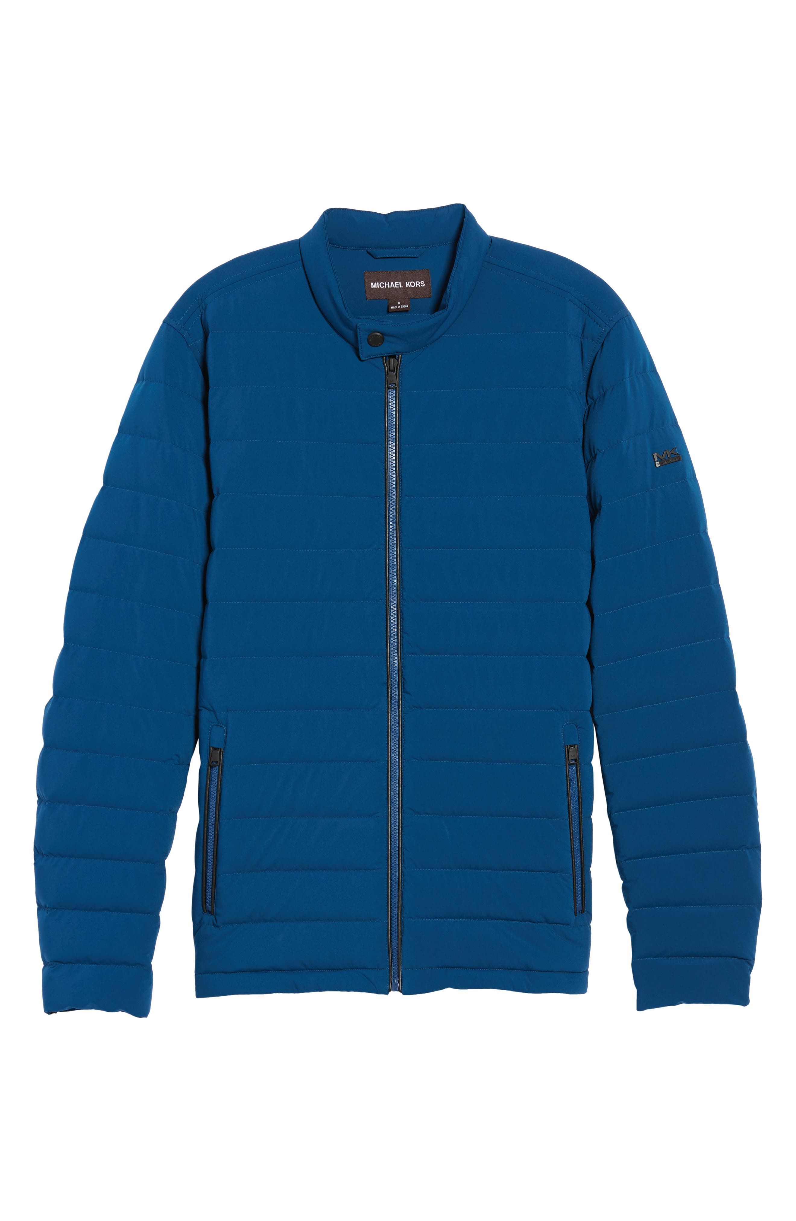 Packable Stretch Down Jacket,                             Alternate thumbnail 6, color,                             Pacific Blue