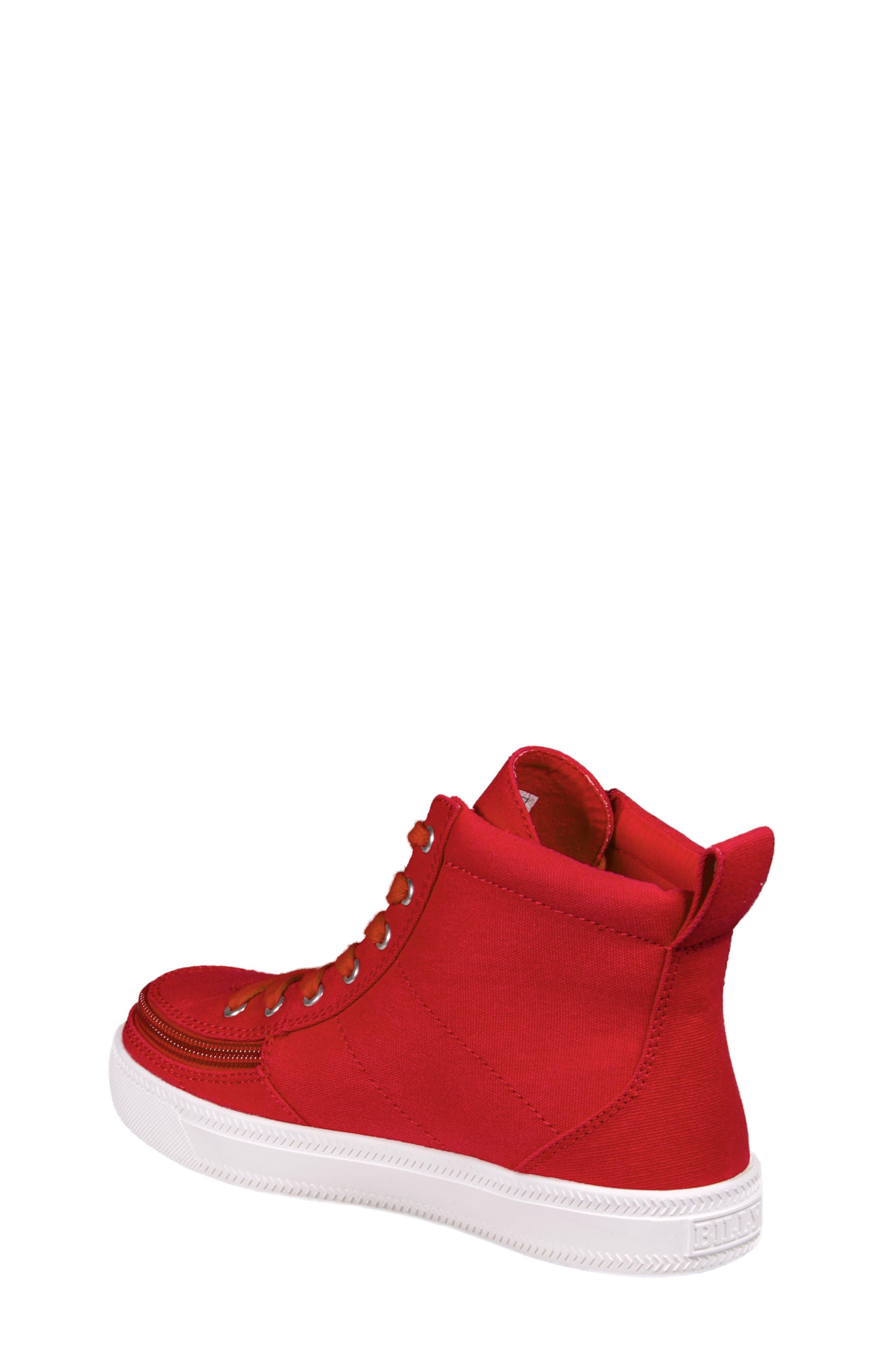 Alternate Image 2  - BILLY Footwear Zip Around High Top Sneaker (Toddler, Little Kid & Big Kid)
