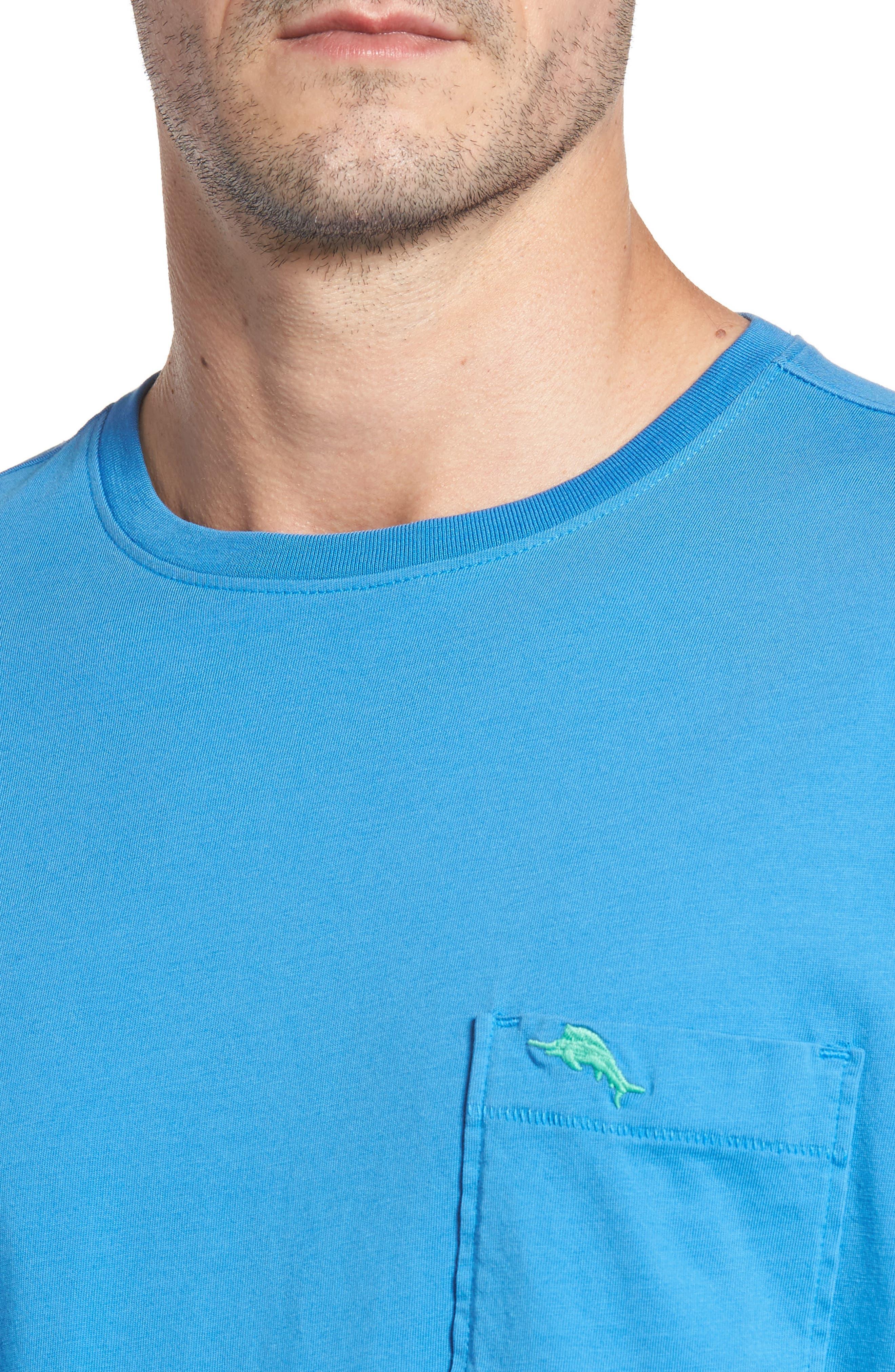 Alternate Image 4  - Tommy Bahama Bali Skyline Pocket T-Shirt