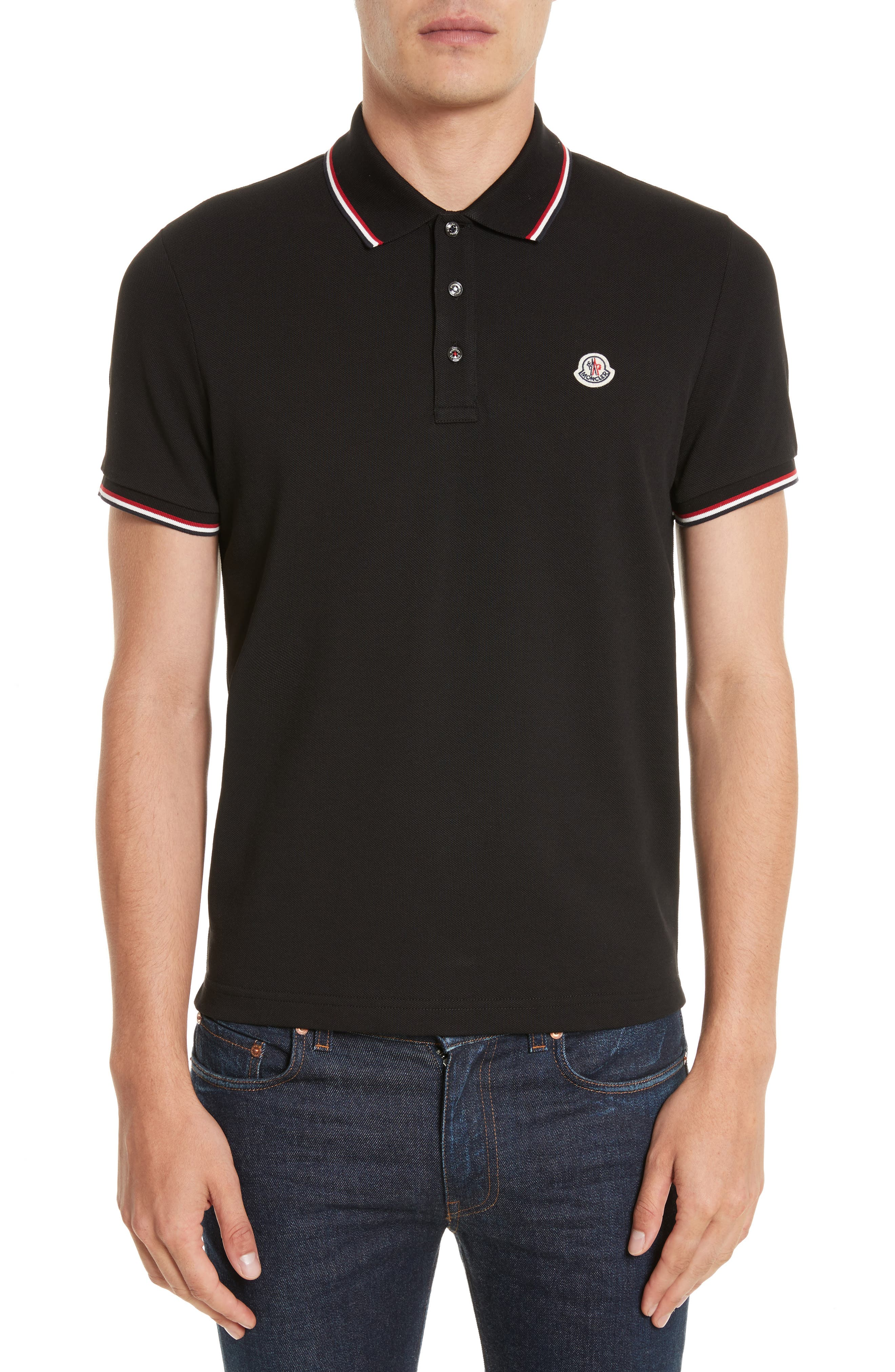 moncler polo shirts mens