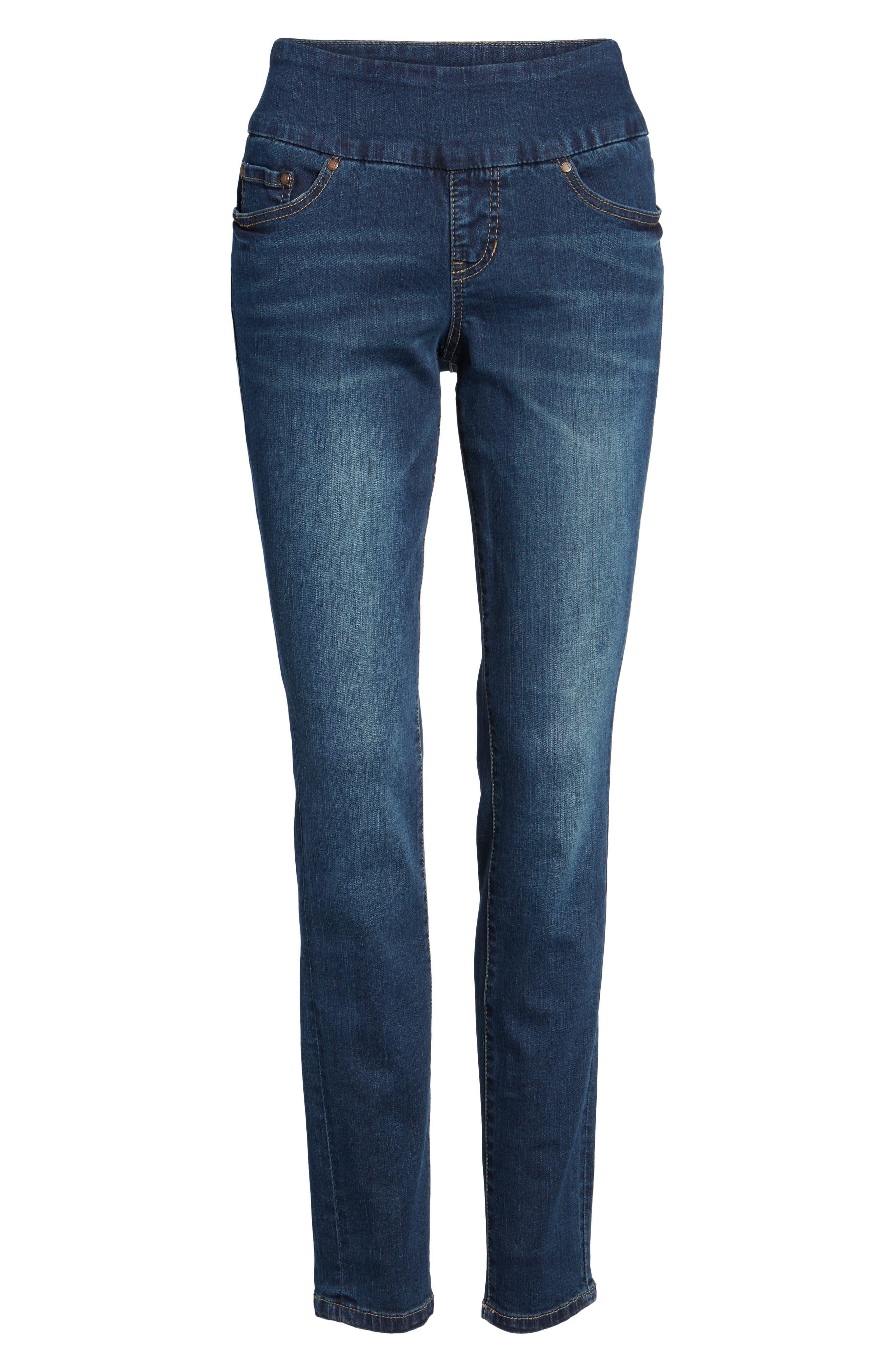 Alternate Image 6  - Jag Jeans Nora Stretch Skinny Jeans (Regular & Petite)