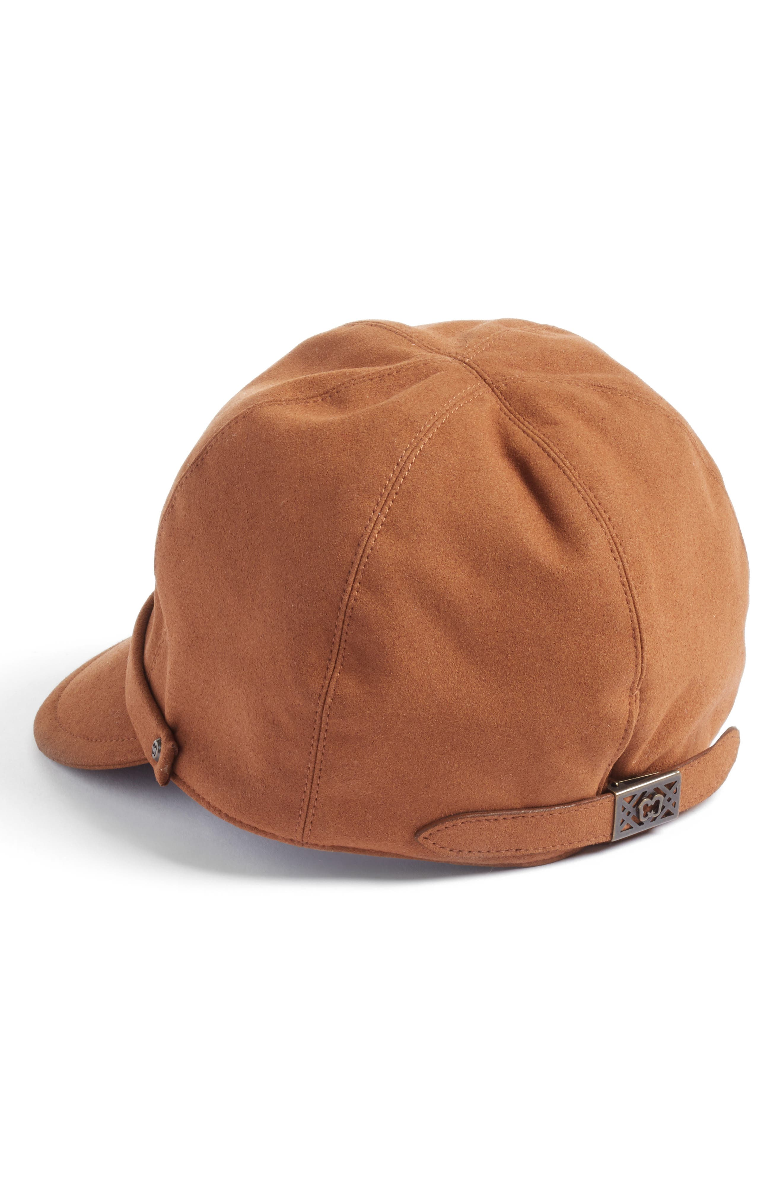 Alternate Image 2  - Eric Javits Mika Packable Faux Suede Cap