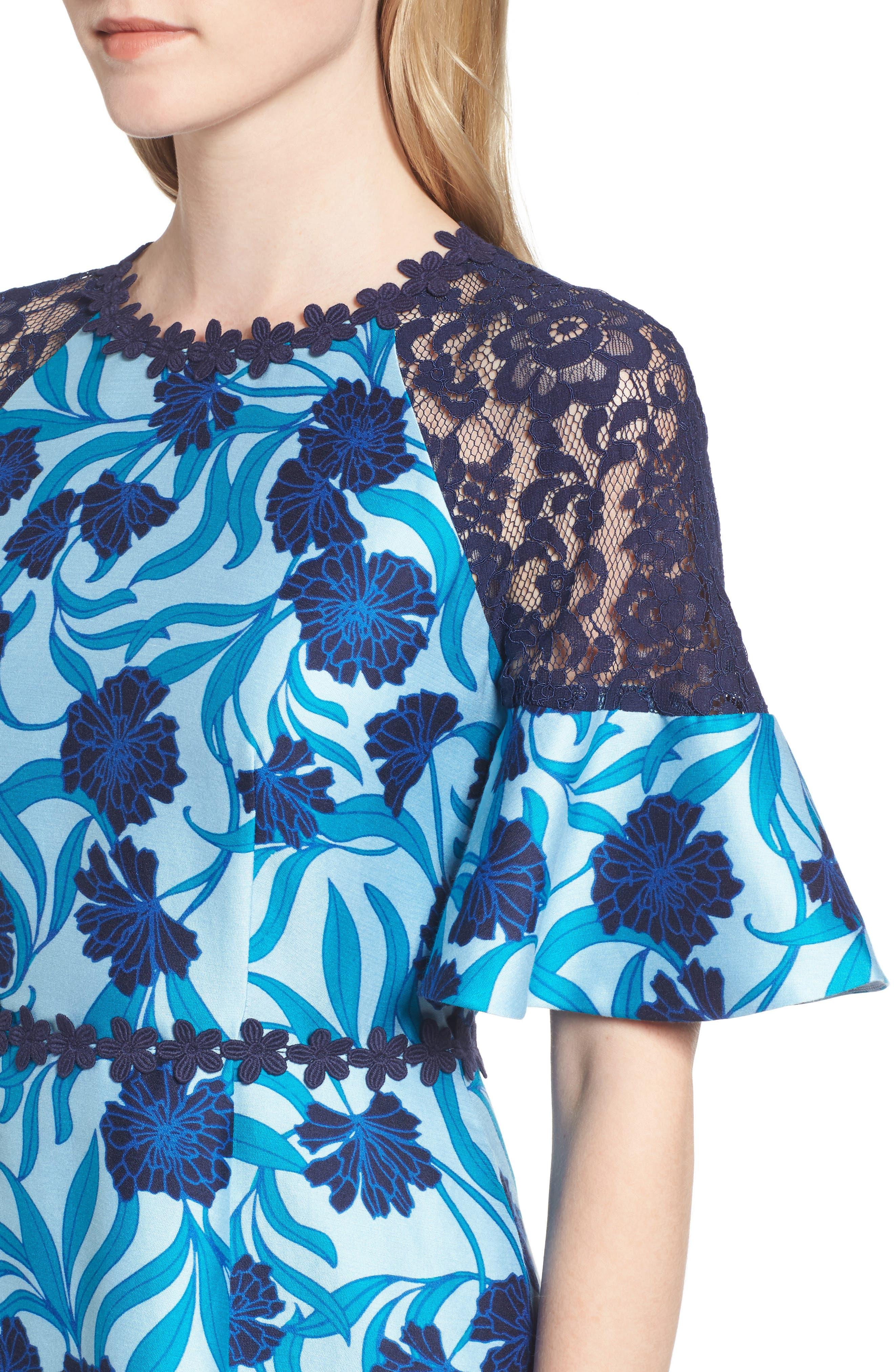 Alternate Image 4  - Draper James Maggie Buttercup Bloom Dress