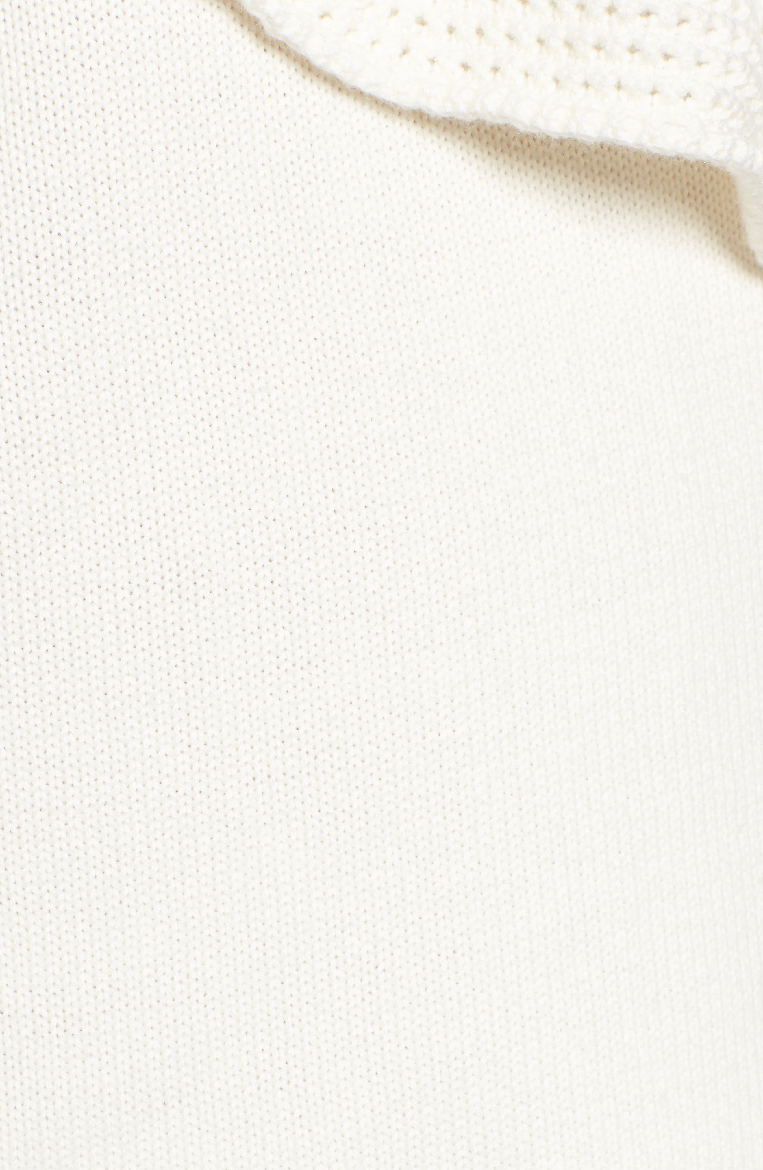 Alternate Image 5  - Ella Moss Ruffle One Shoulder Sweater