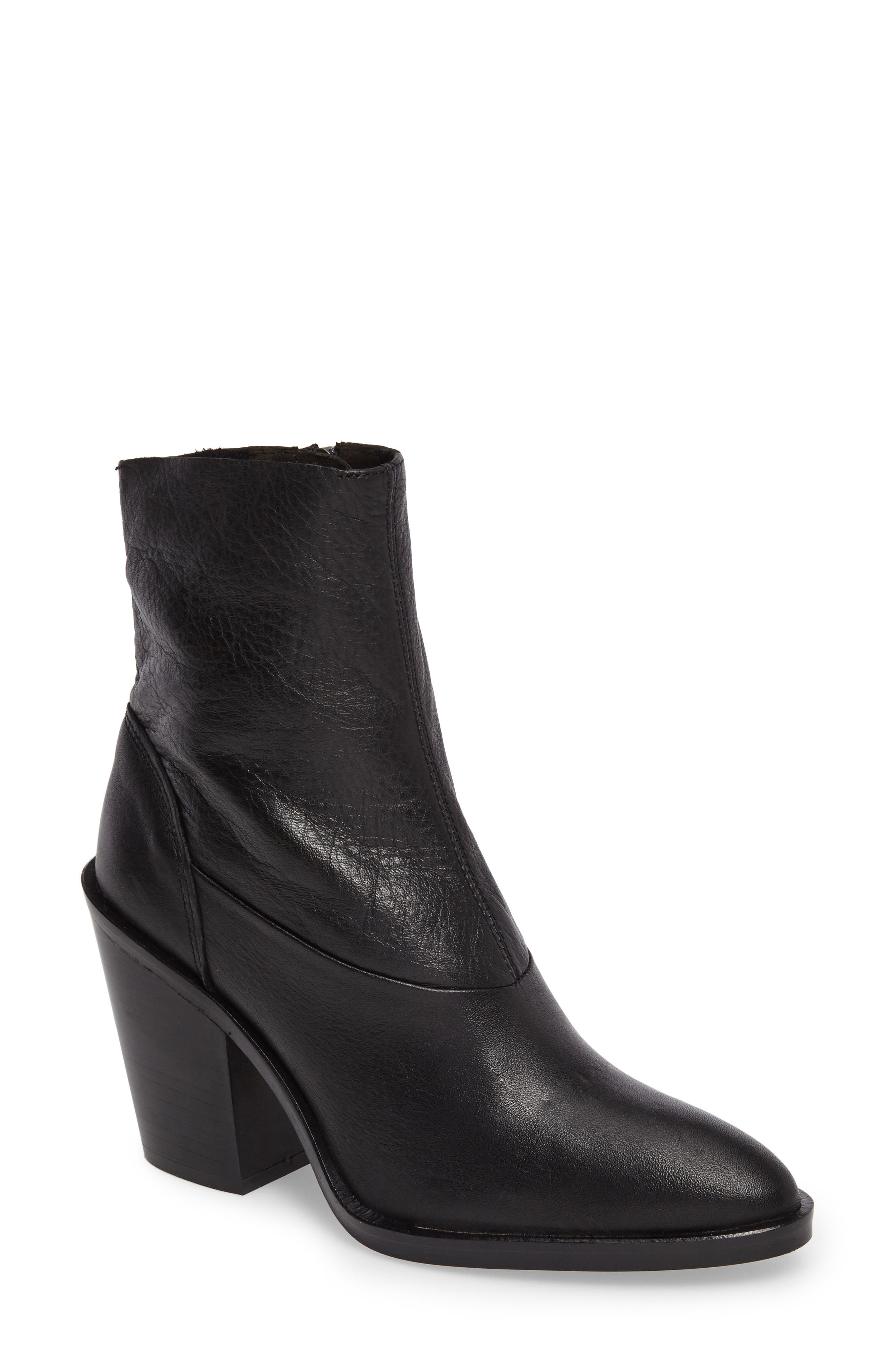 May Sock Bootie,                         Main,                         color, Black