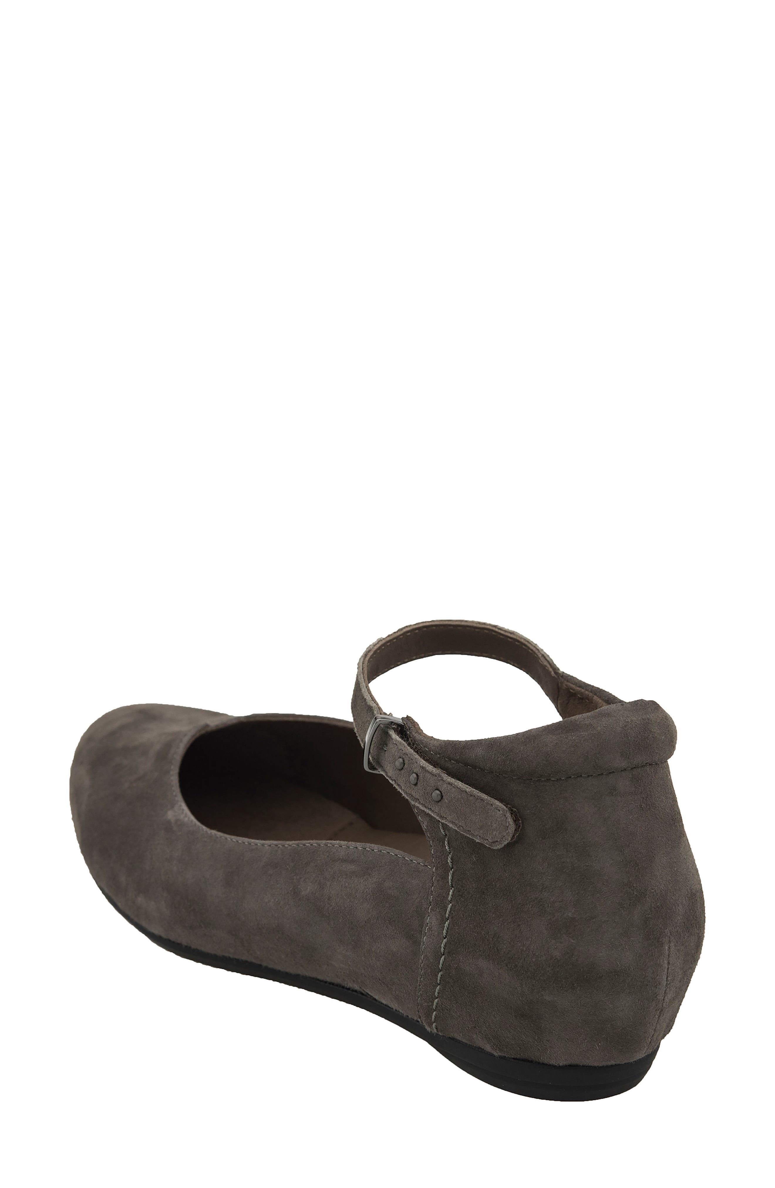 Alternate Image 2  - Earthies® Emery Ankle Strap Flat (Women)