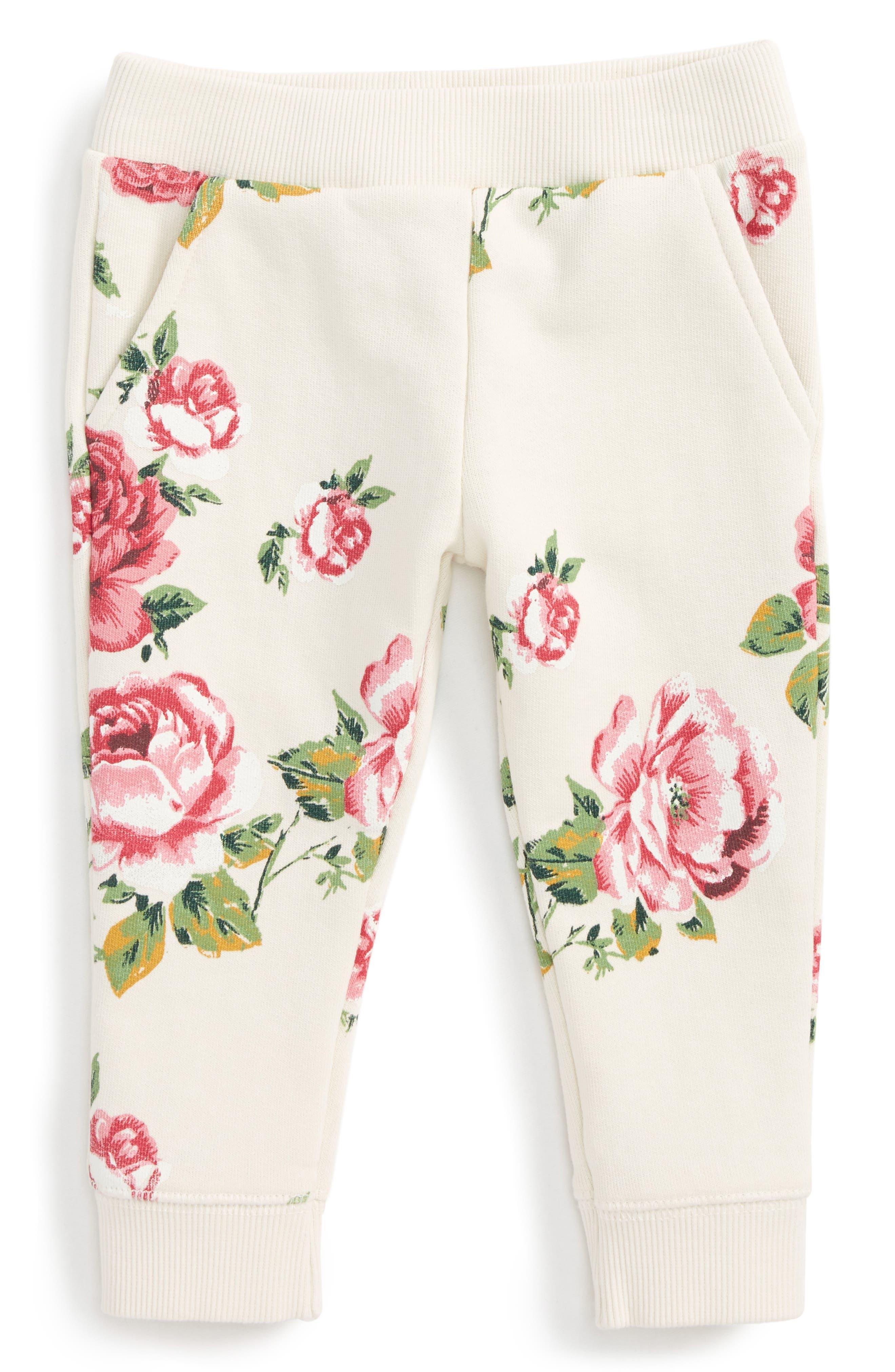 Peek Floral Jogger Pants (Baby Girls)