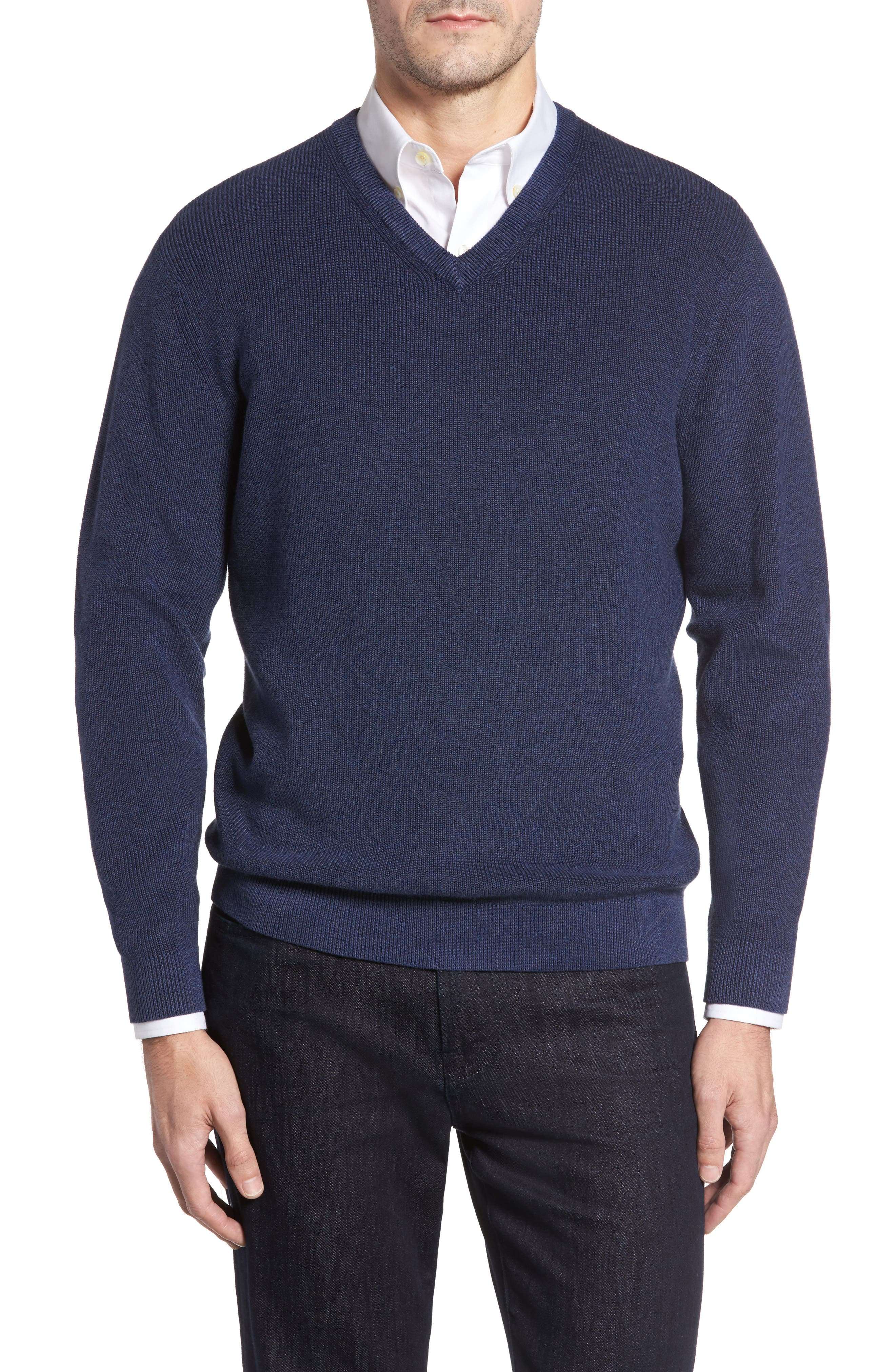 Main Image - Tommy Bahama Las Palmas Reversible Sweater