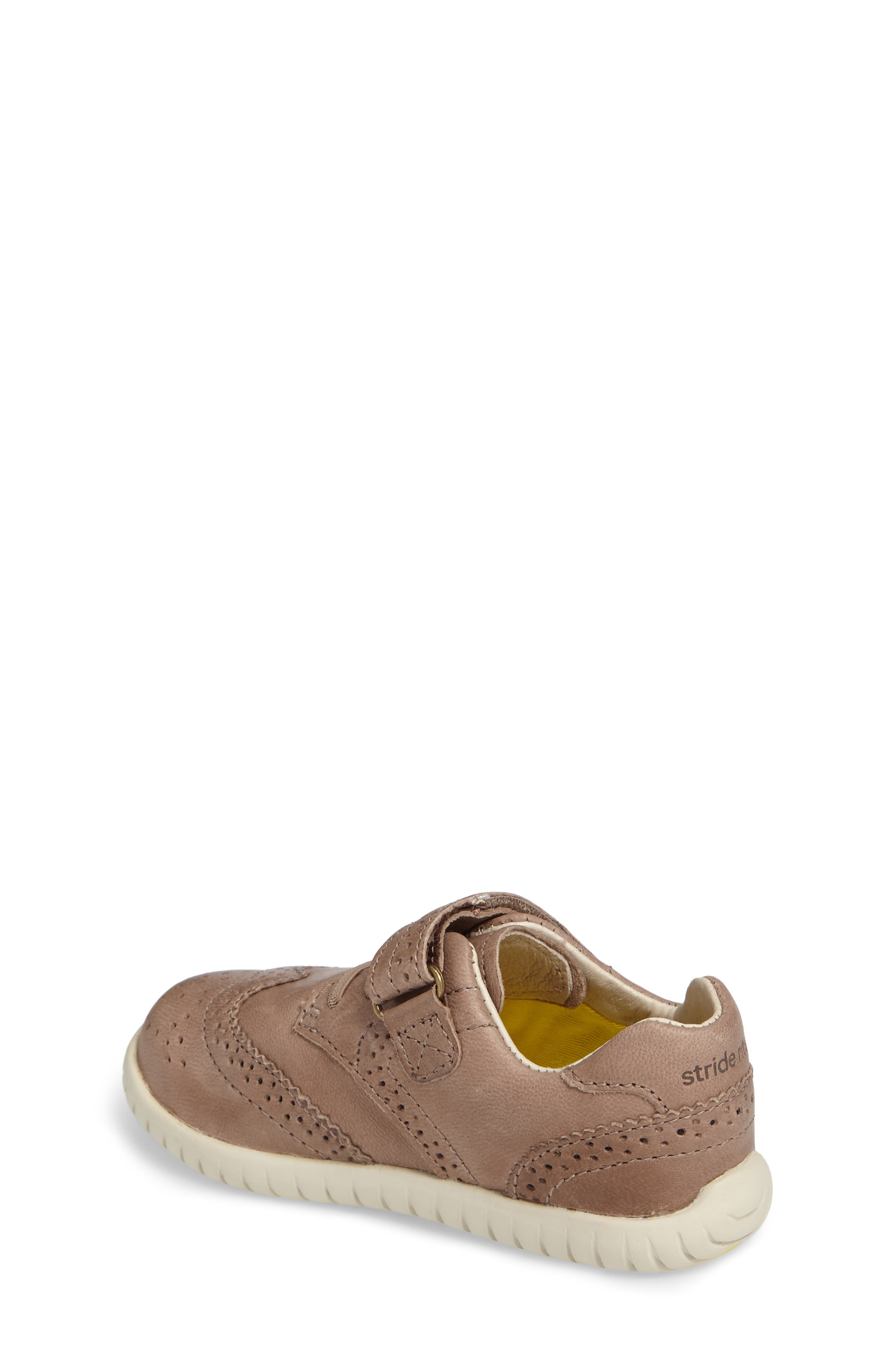 Alternate Image 2  - Stride Rite Addison Wingtip Sneaker (Baby, Walker & Toddler)