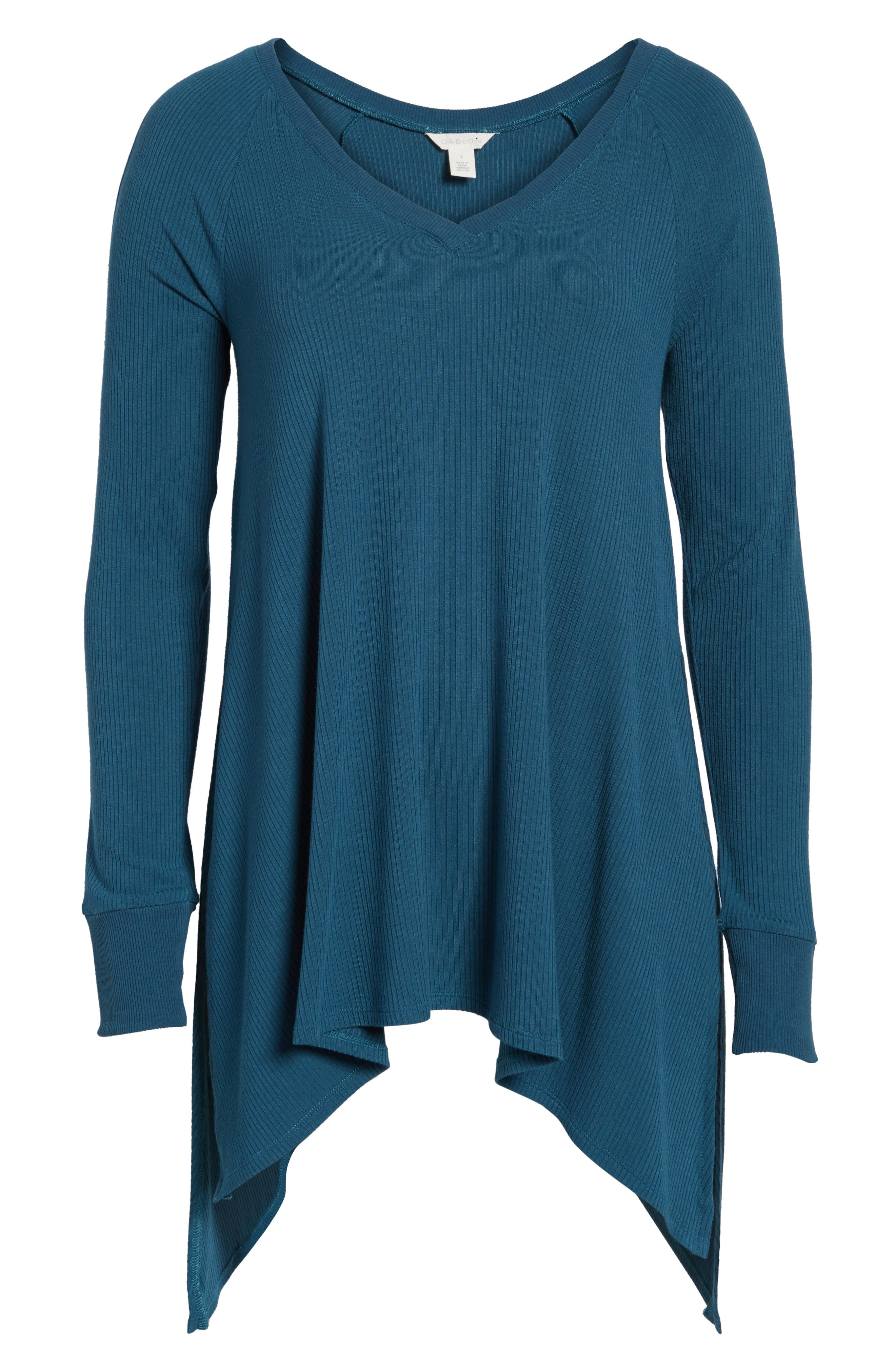 Alternate Image 6  - Caslon® Cold Shoulder Tunic