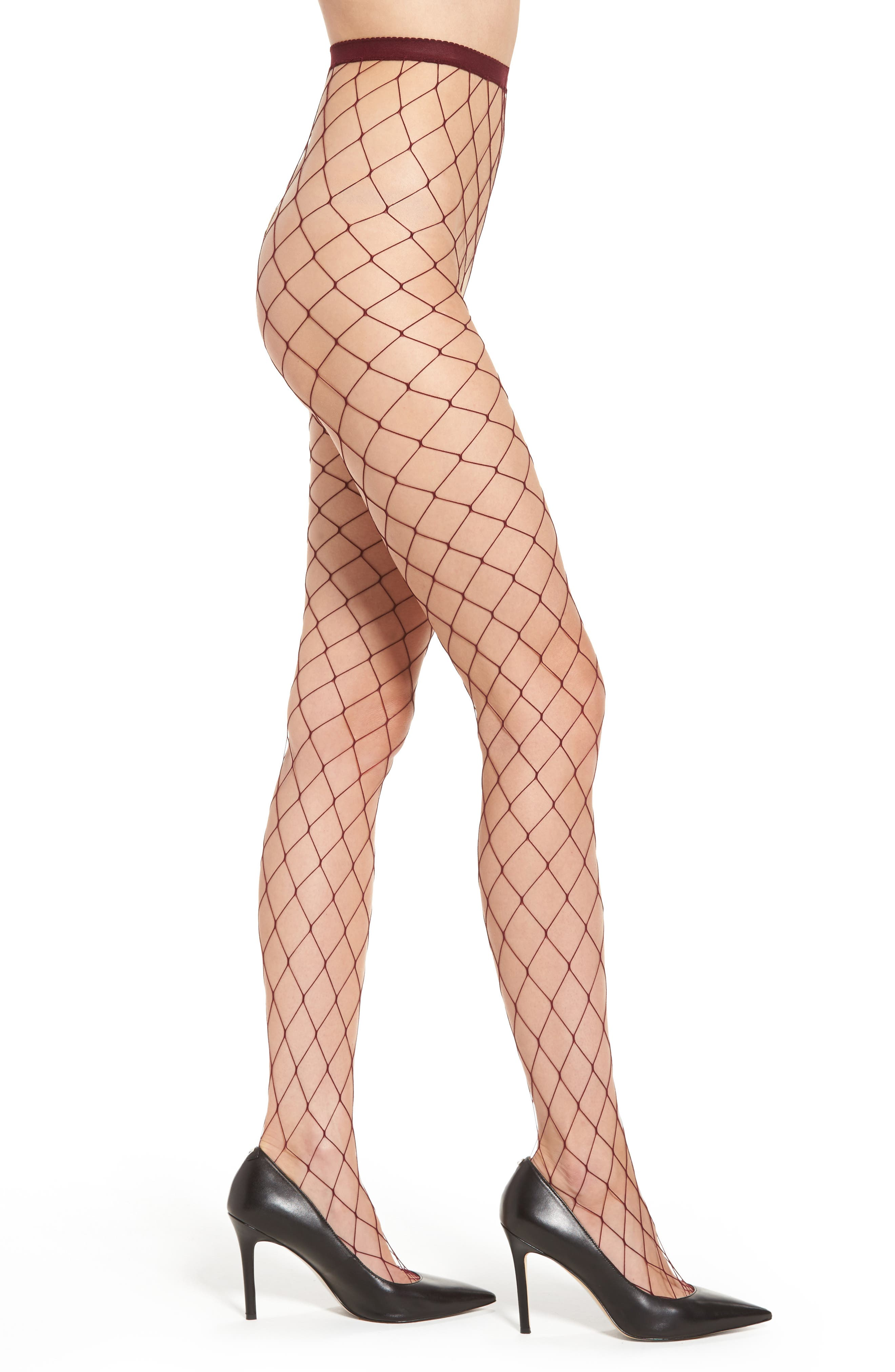 Main Image - Nordstrom Fishnet Tights